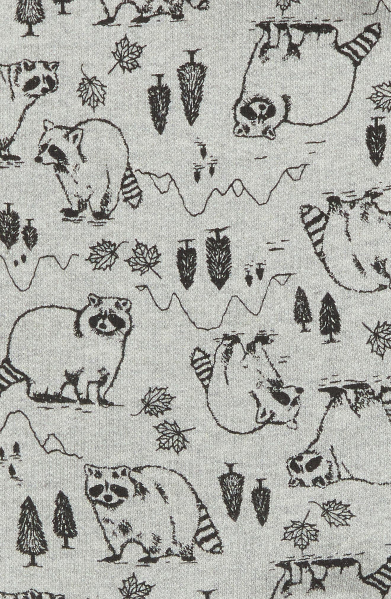 Alternate Image 3  - Tucker + Tate Woodland Raccoon Print Top (Baby Boys)