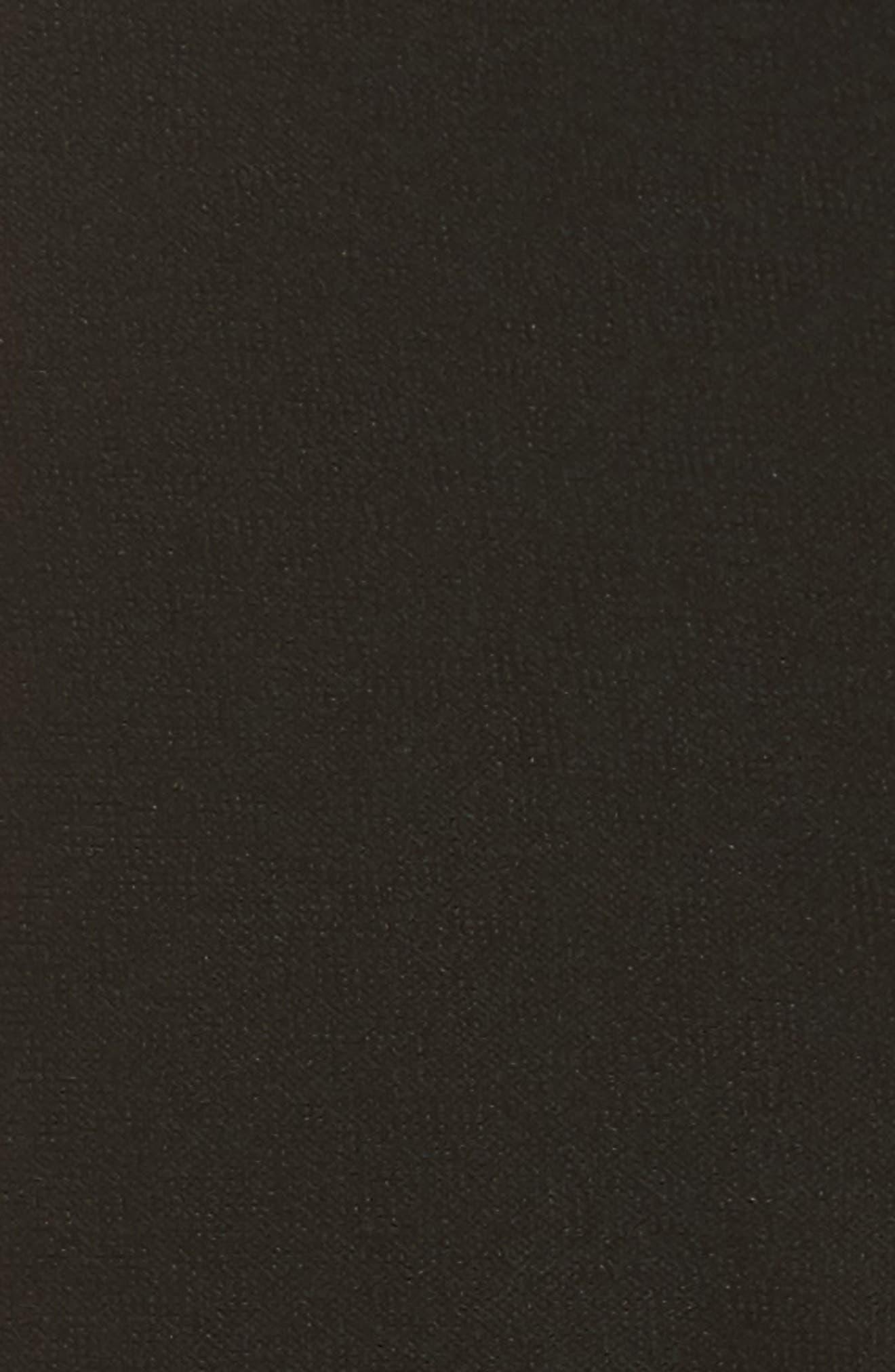 Stretch Crepe Slim Ankle Pants,                             Alternate thumbnail 7, color,                             Black