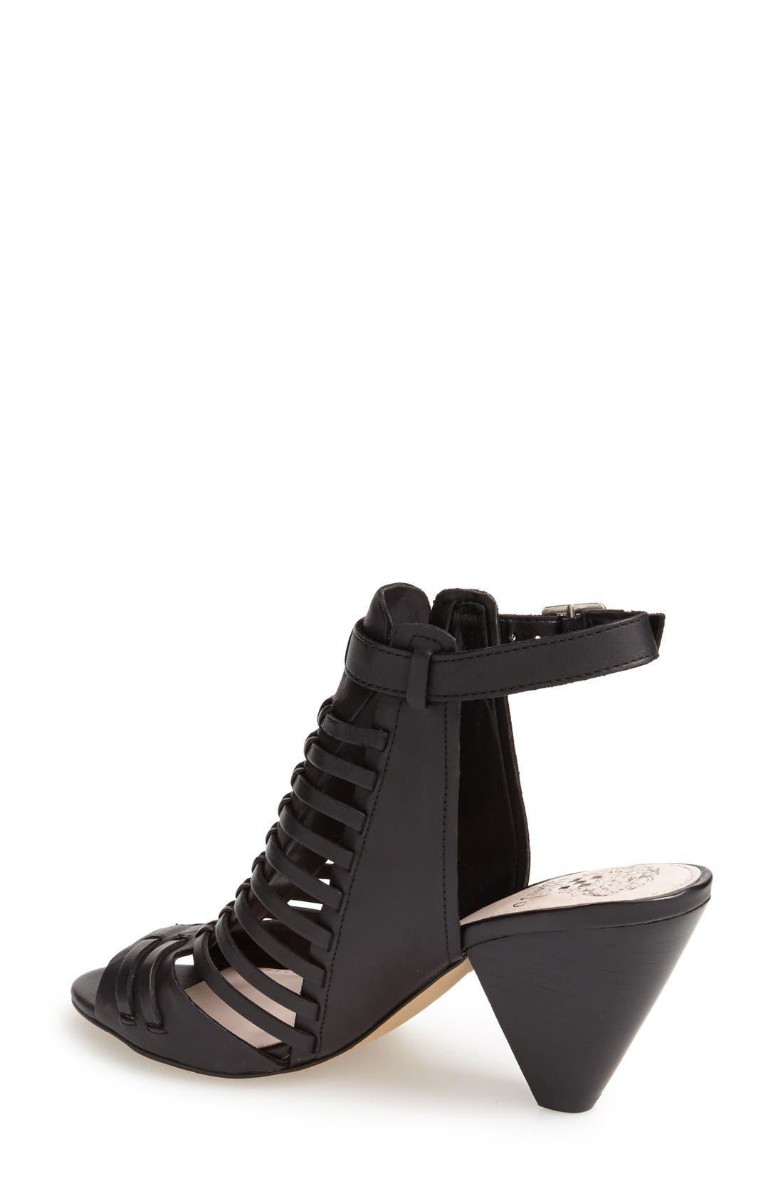 'Effel' Sandal,                             Alternate thumbnail 2, color,                             Black