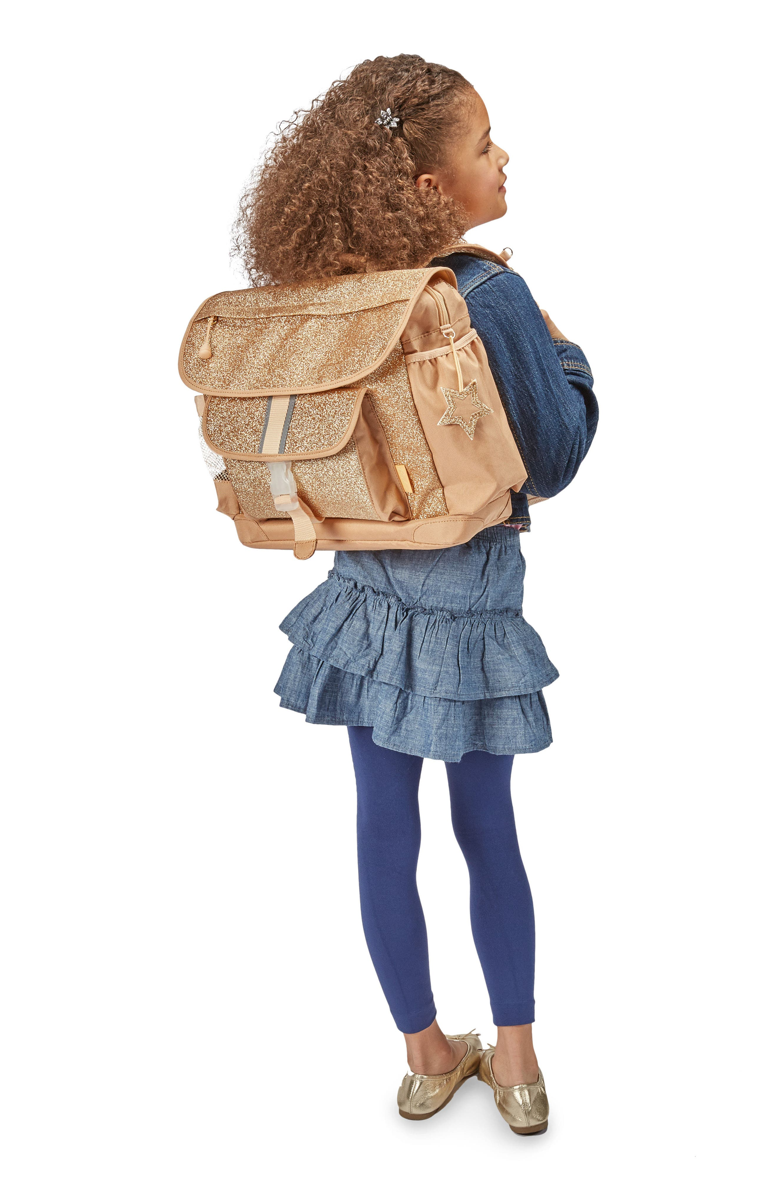 Alternate Image 2  - Bixbee Sparkalicious Water Resistant Backpack (Kids)
