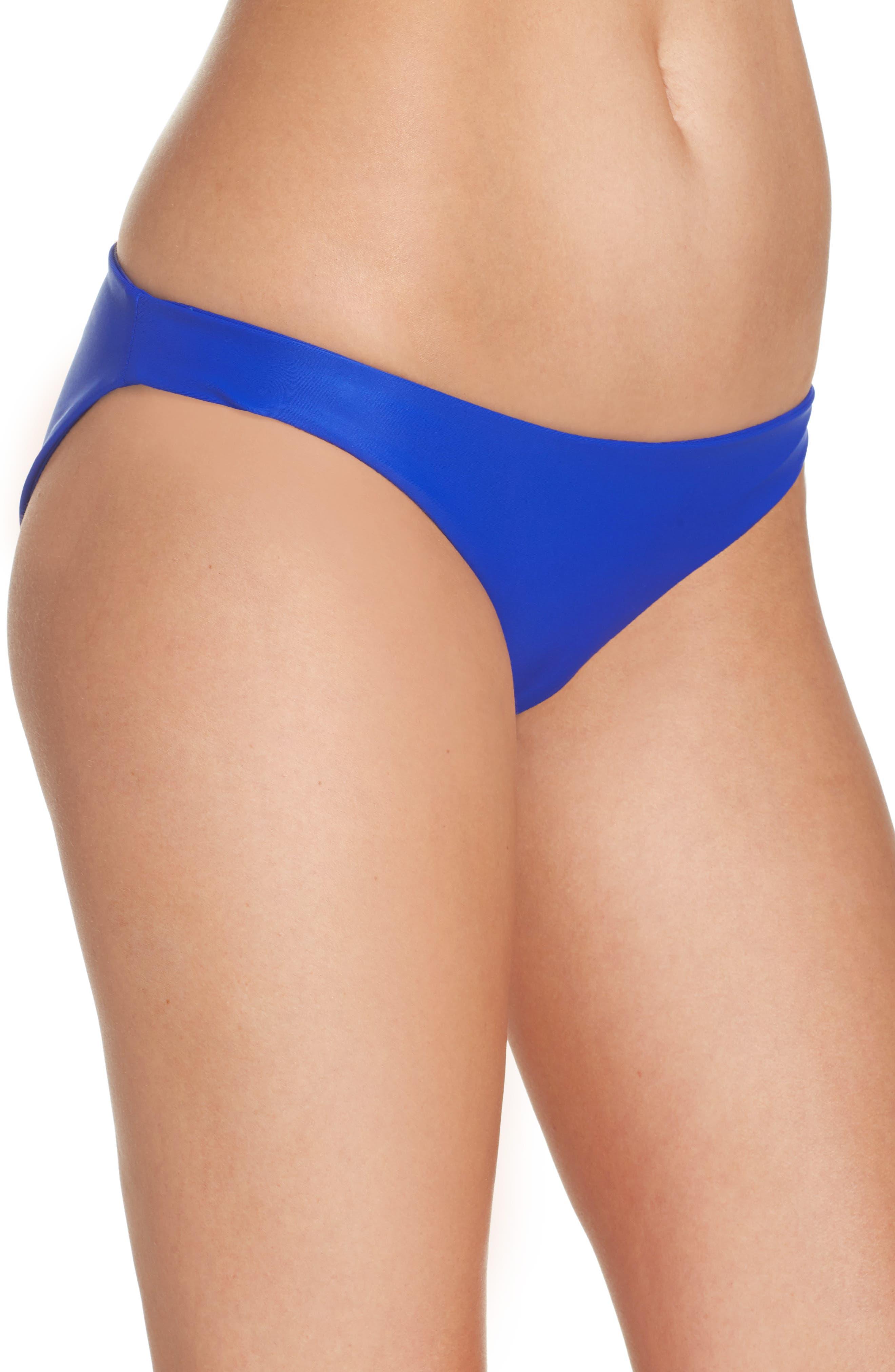 Zuma Bikini Bottoms,                             Alternate thumbnail 3, color,                             Electric Eel