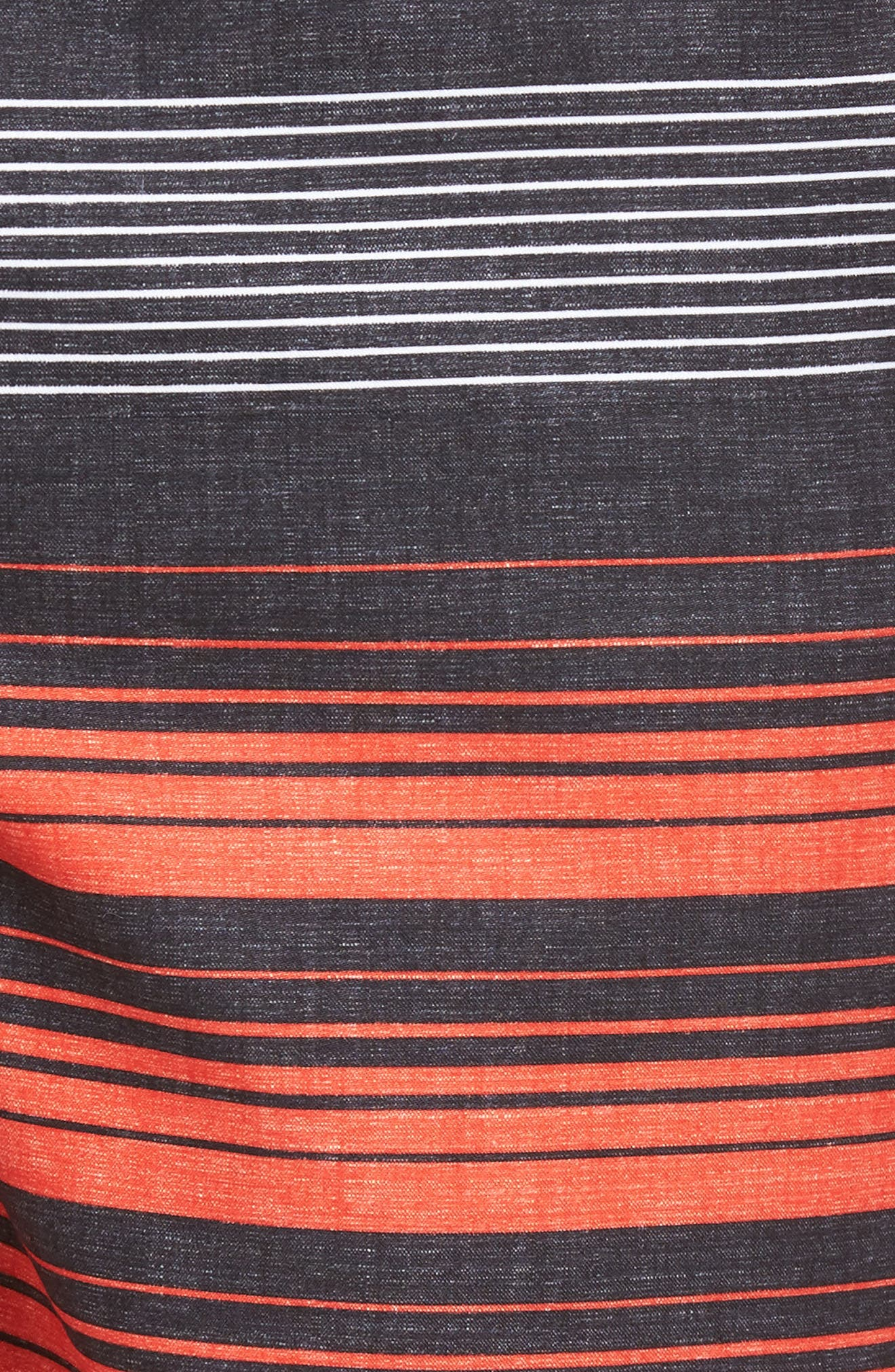 Lennox Board Shorts,                             Alternate thumbnail 5, color,                             Neon Red