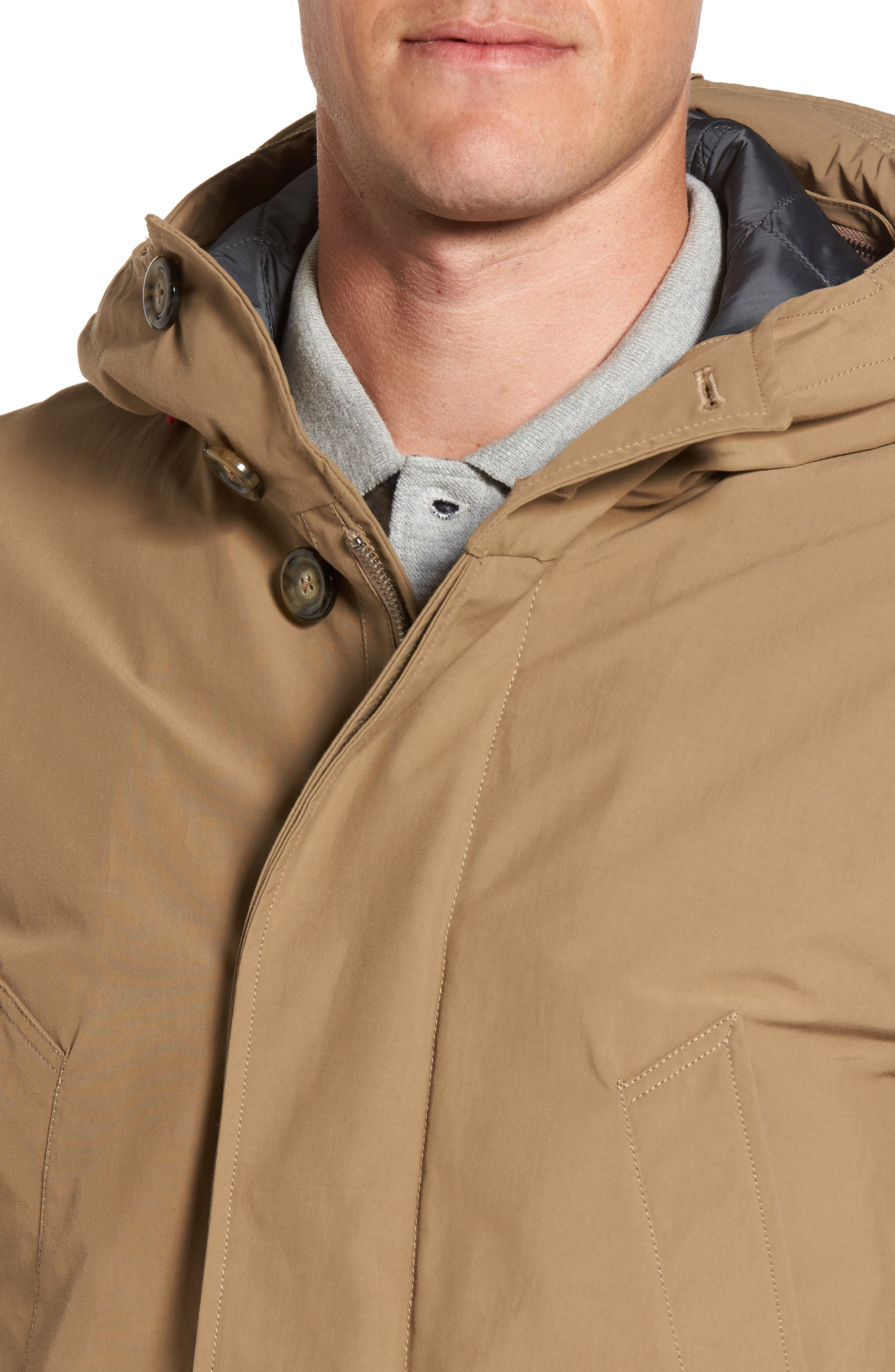 Alternate Image 4  - Baracuta Knott Waterproof Parka