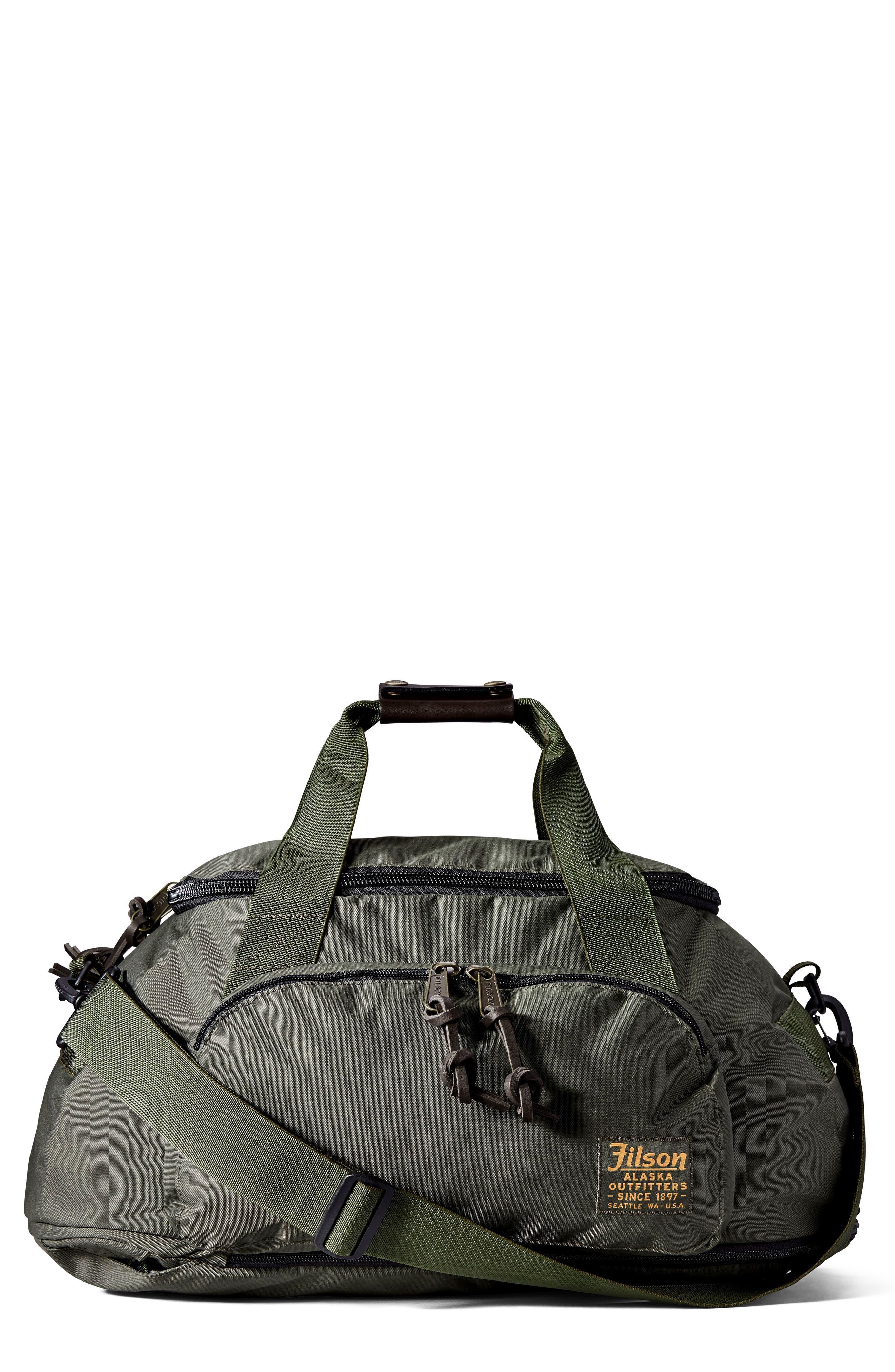 Convertible Duffel Bag,                         Main,                         color, Otter Green