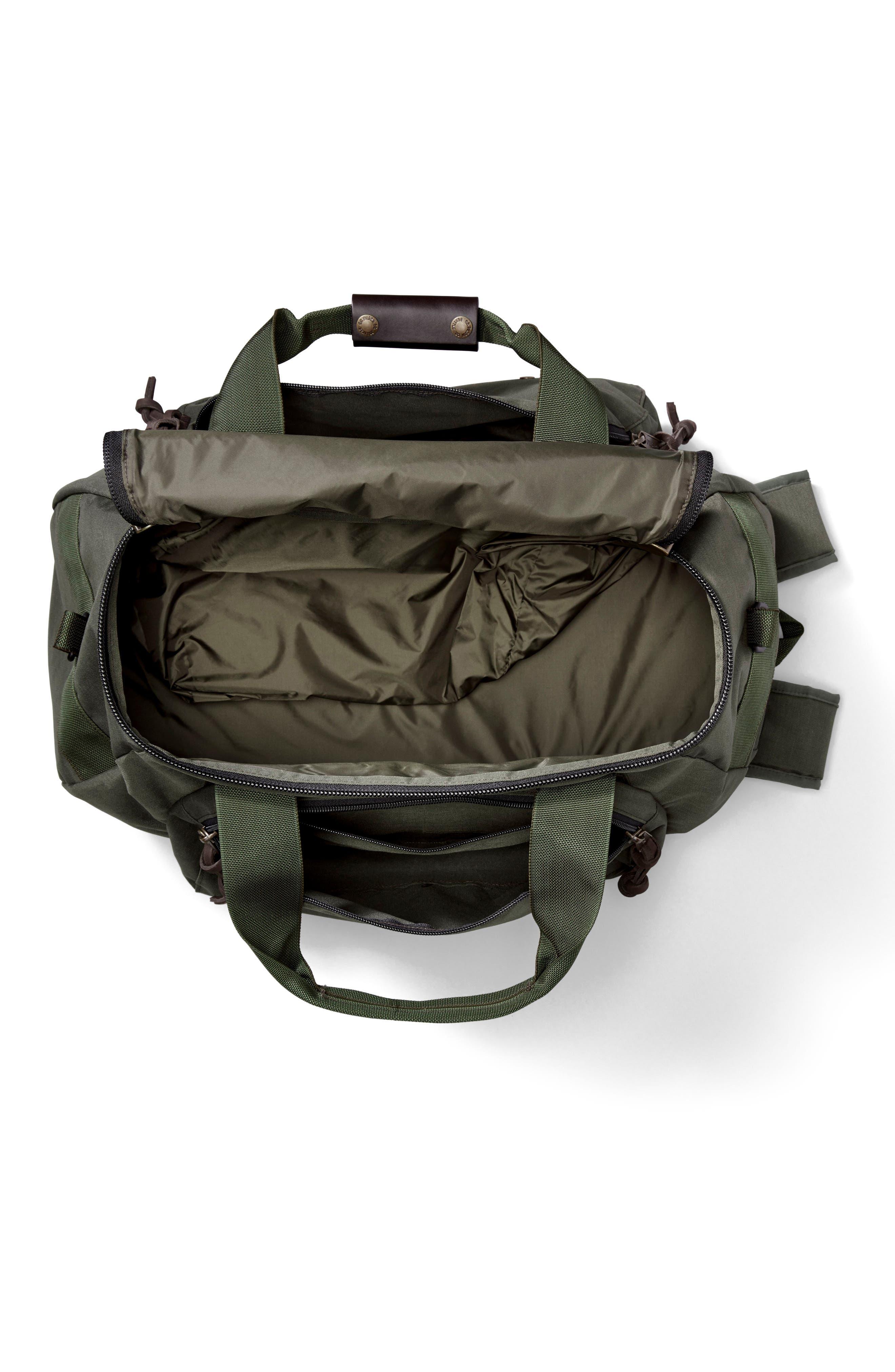 Convertible Duffel Bag,                             Alternate thumbnail 3, color,                             Otter Green