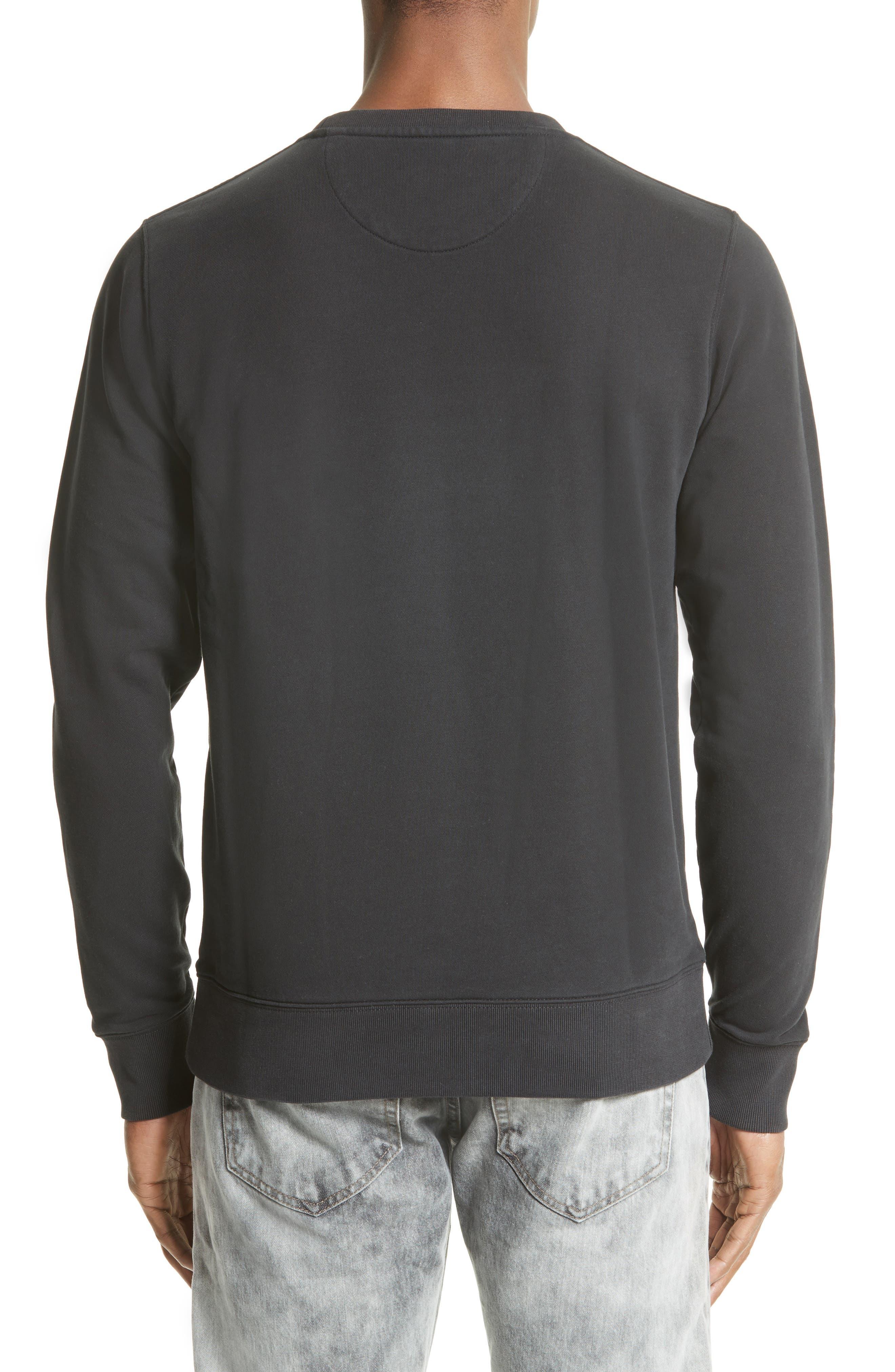 Alternate Image 2  - Saturdays NYC Slash Crewneck Sweatshirt