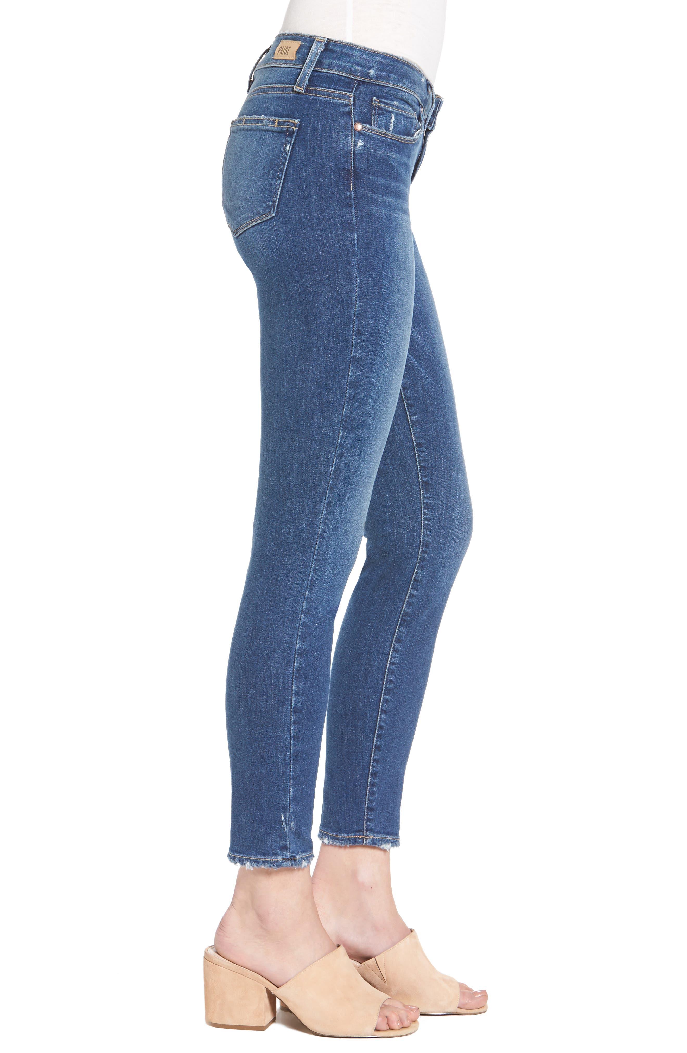 Alternate Image 3  - PAIGE Verdugo Ankle Ultra Skinny Jeans (Bali)