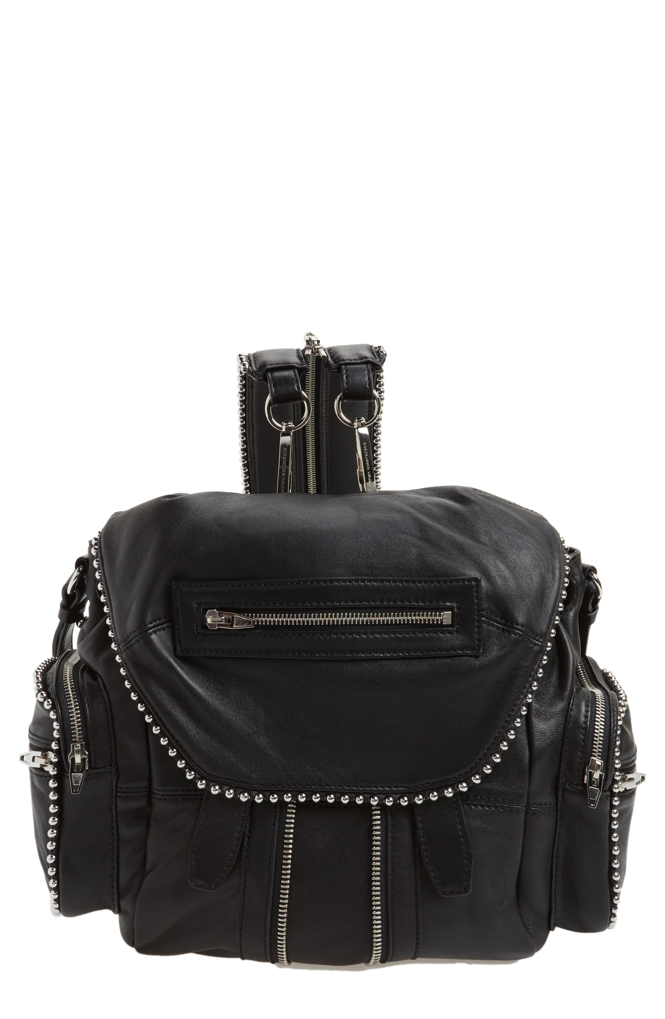 Alexander Wang Mini Marti Ball Stud Leather Backpack