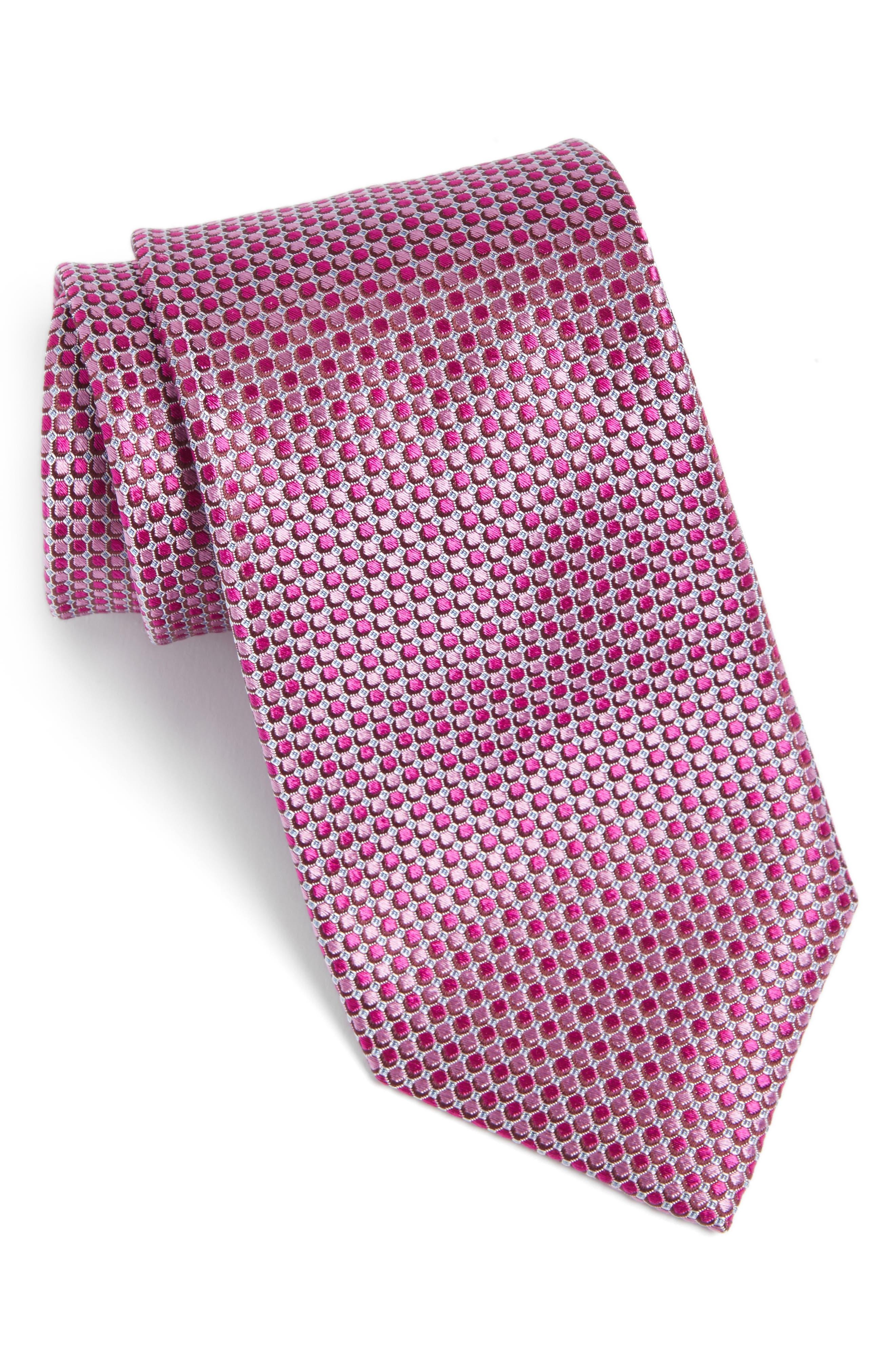 NORDSTROM MENS SHOP Alghero Micro Silk Tie