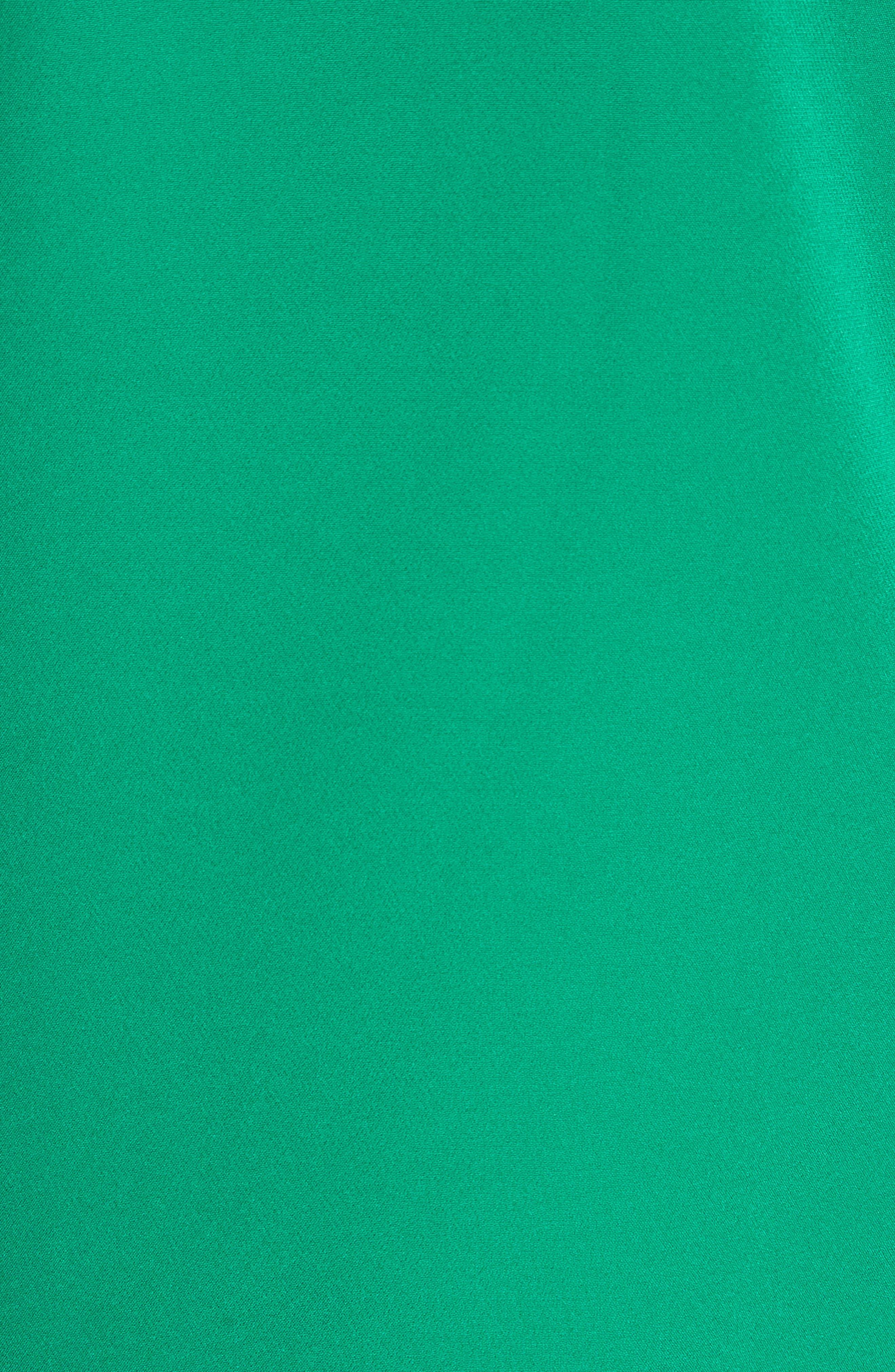 Alternate Image 6  - Milly Annie Cascade Sleeve Stretch Cady Top