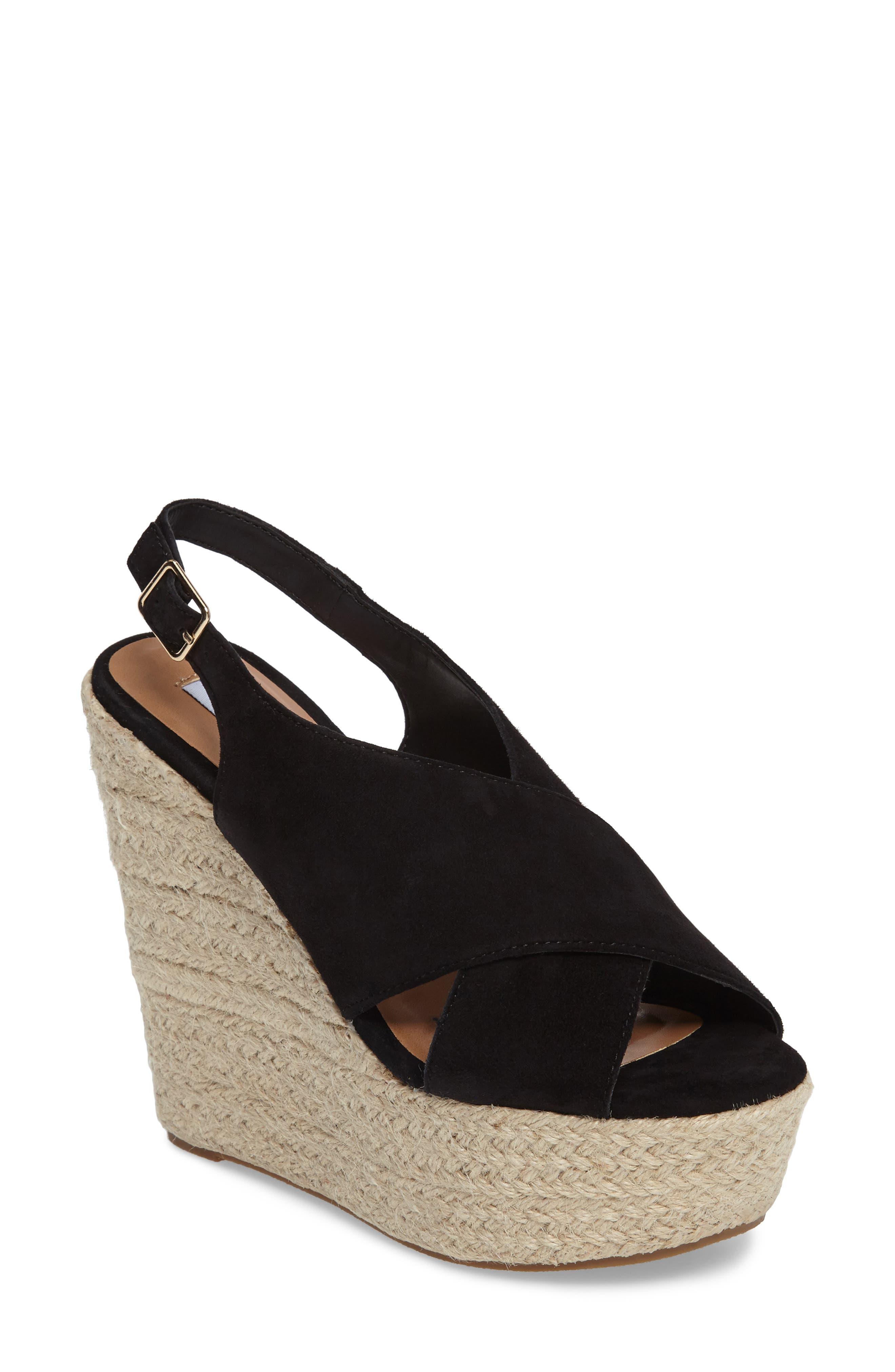 Alternate Image 1 Selected - Steve Madden Rayla Platform Wedge Sandal (Women)