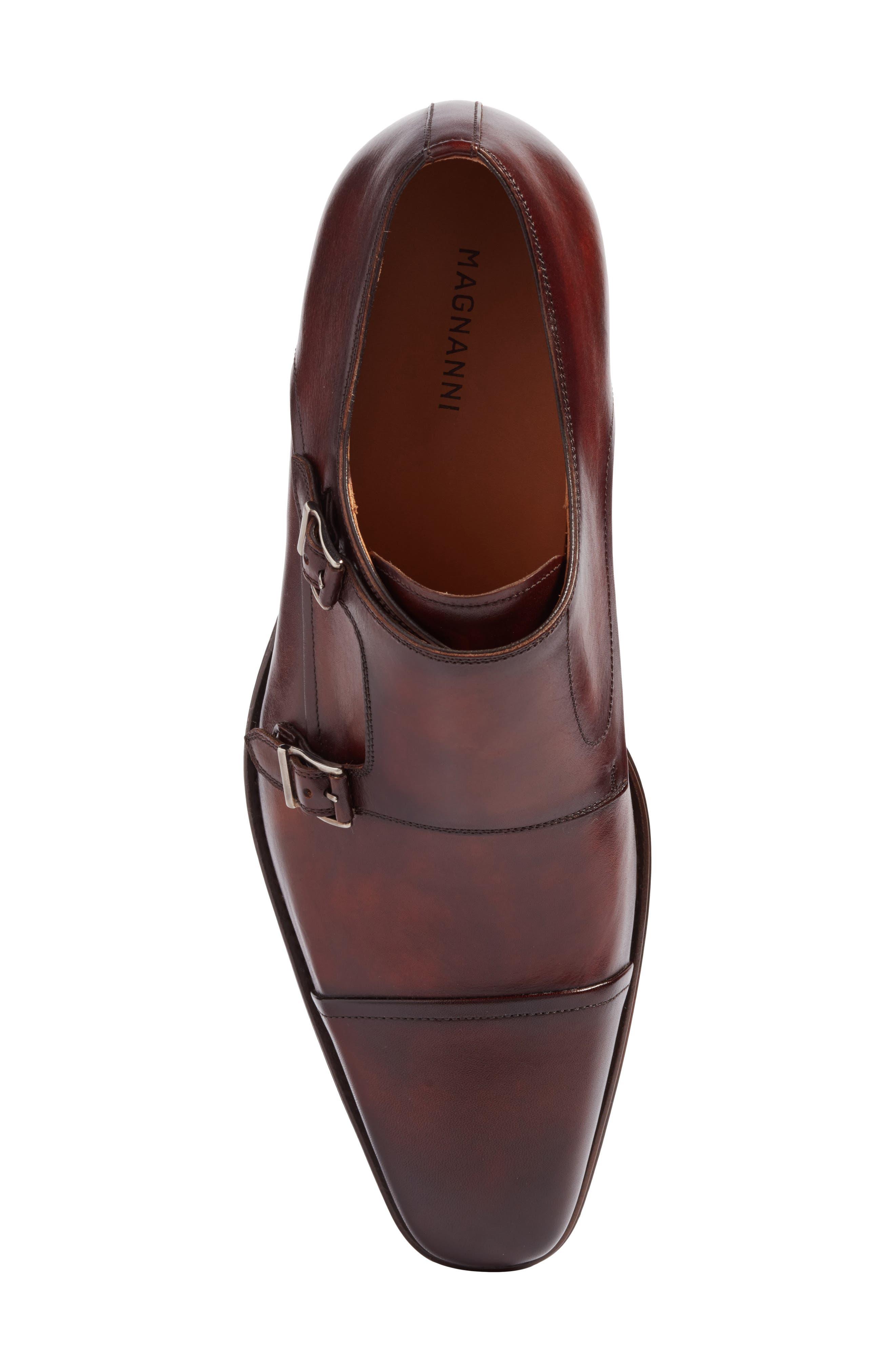 Alternate Image 5  - Magnanni Silvio Double Monk Strap Shoe (Men)