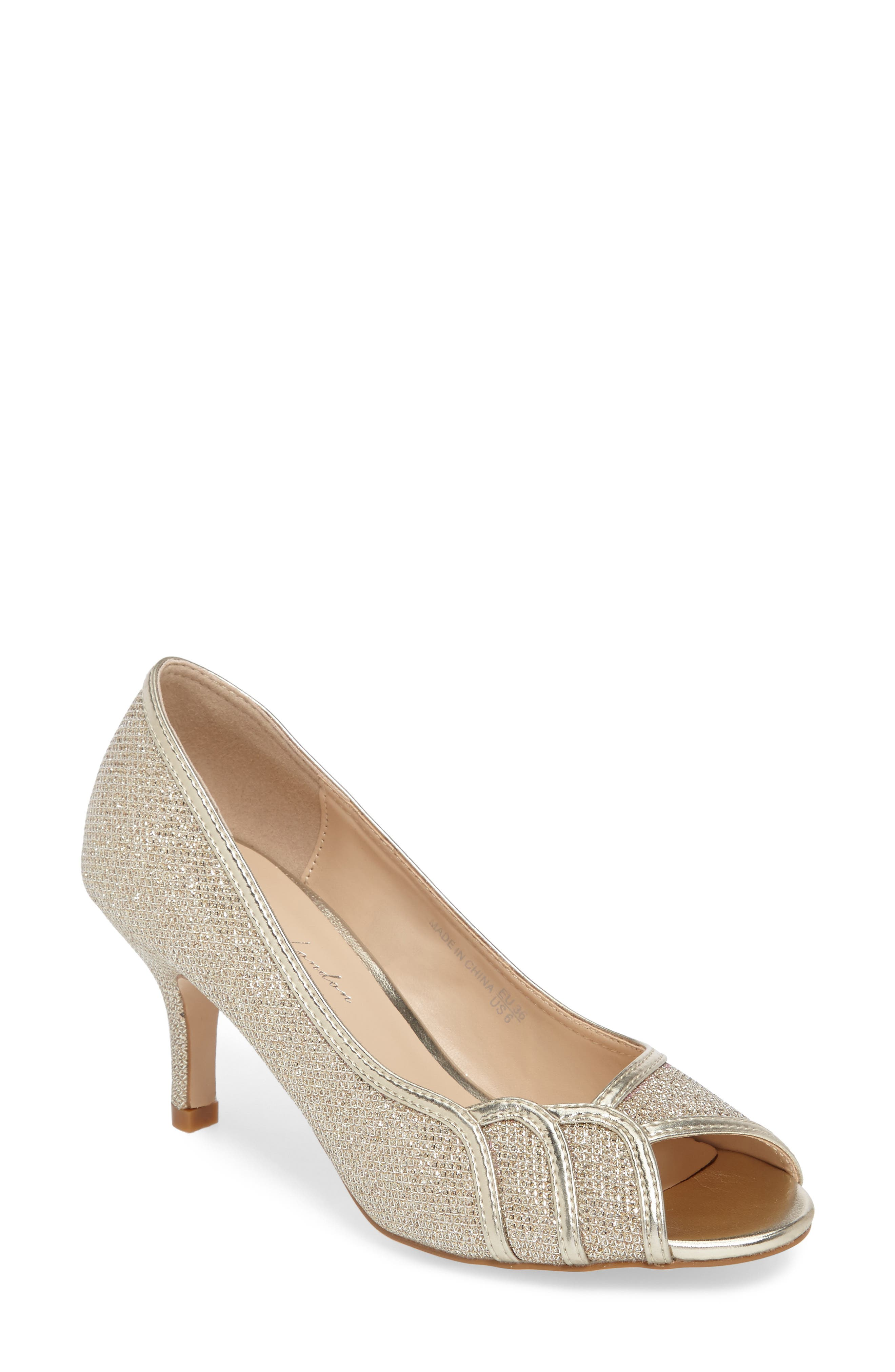 pink paradox london Chester Peep Toe Pump (Women)