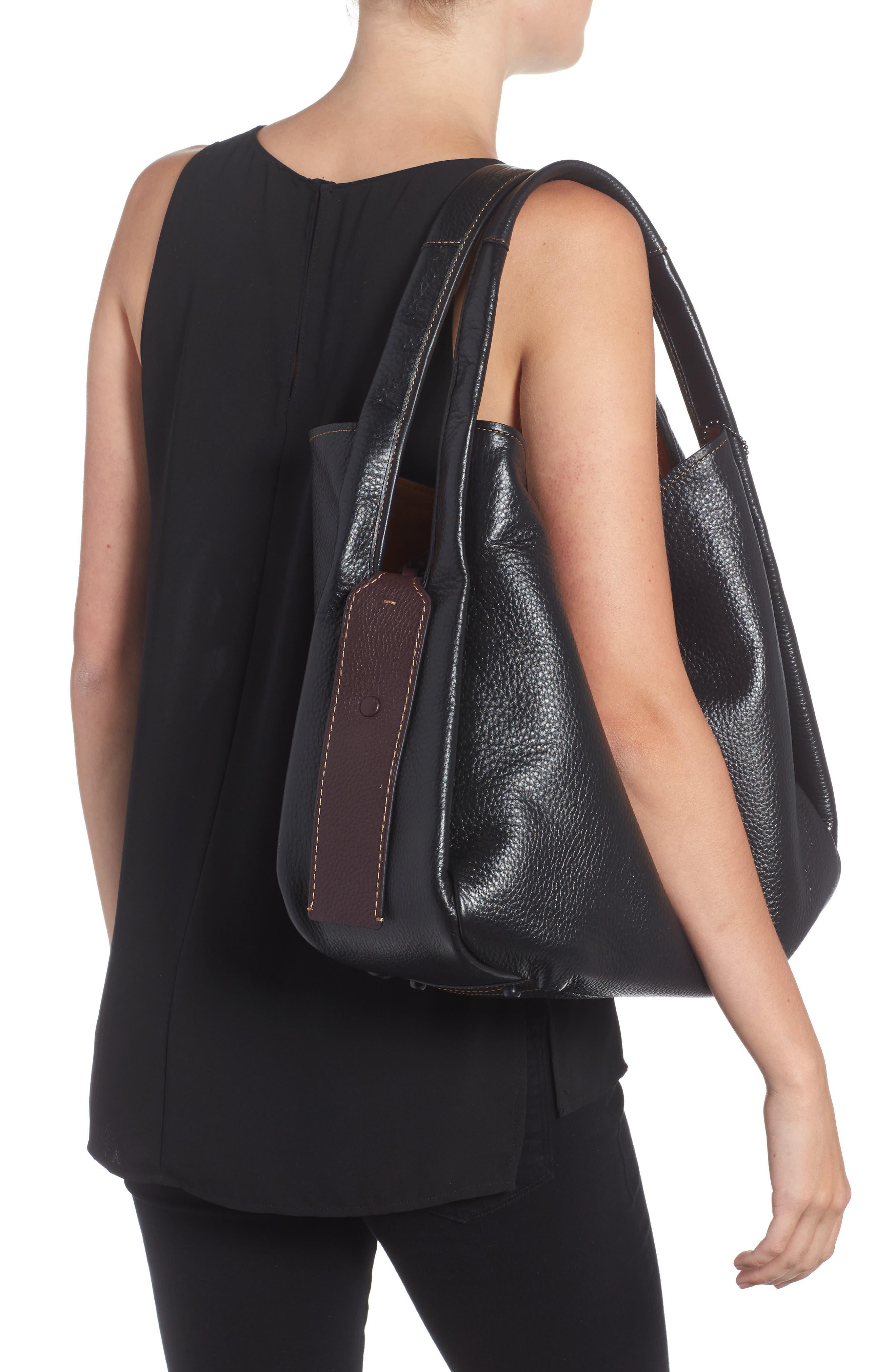 Alternate Image 2  - COACH 1941 Bandit Leather Hobo & Removable Shoulder Bag