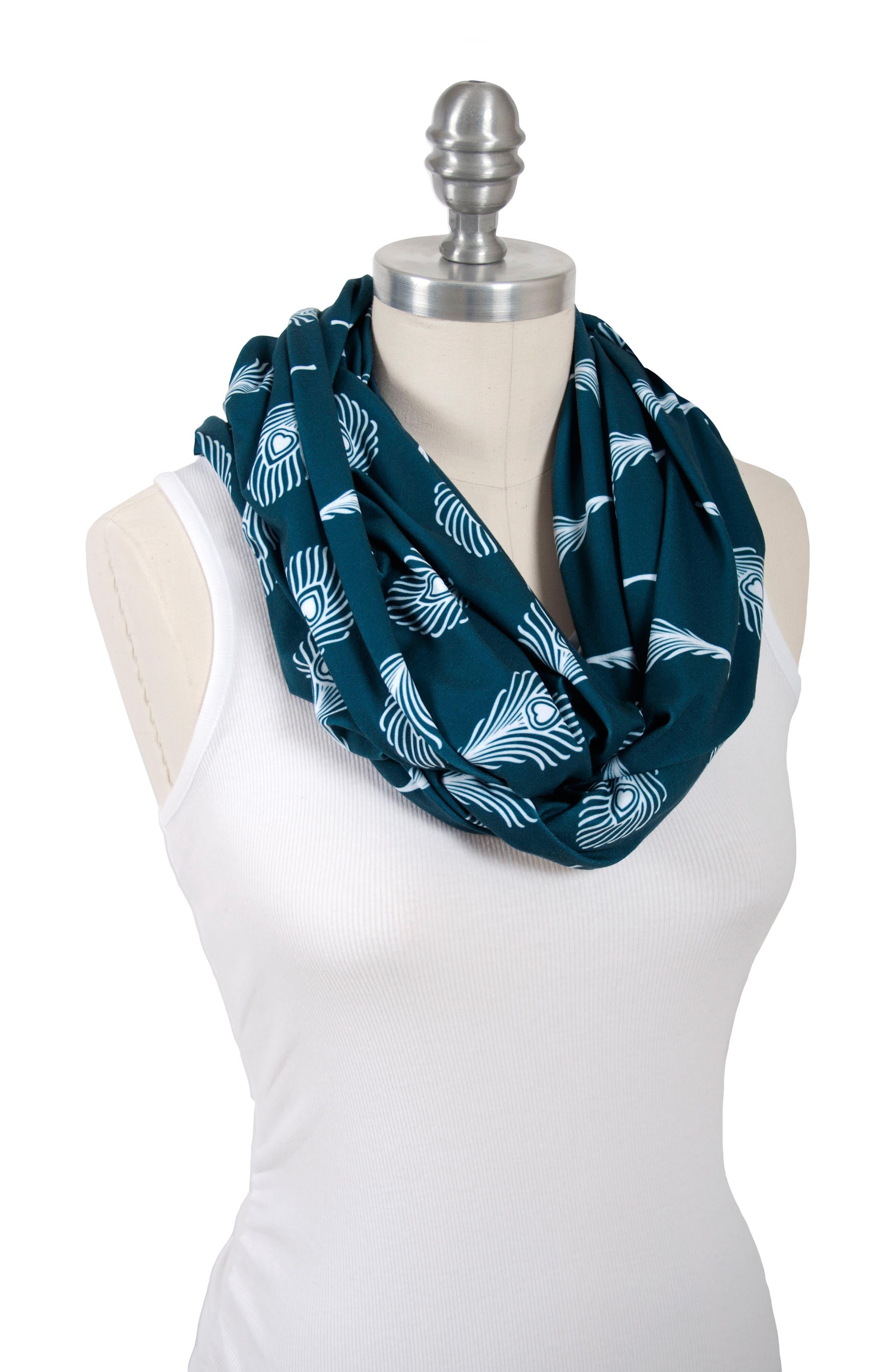 Alternate Image 5  - Bébé au Lait 2-Pack Infinity Nursing Scarves