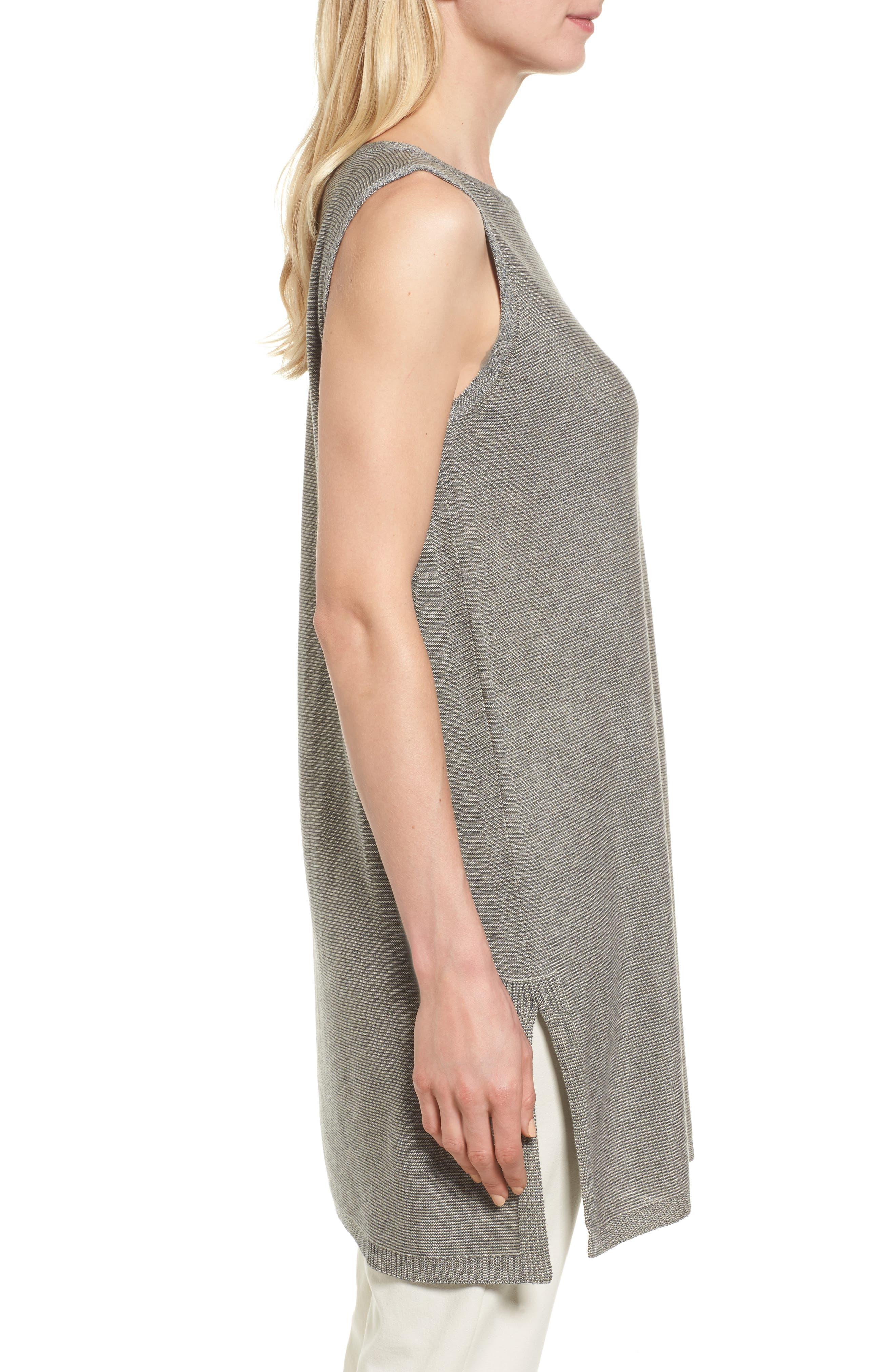 Alternate Image 3  - Eileen Fisher Tencel® & Merino Wool Tunic (Regular & Petite)