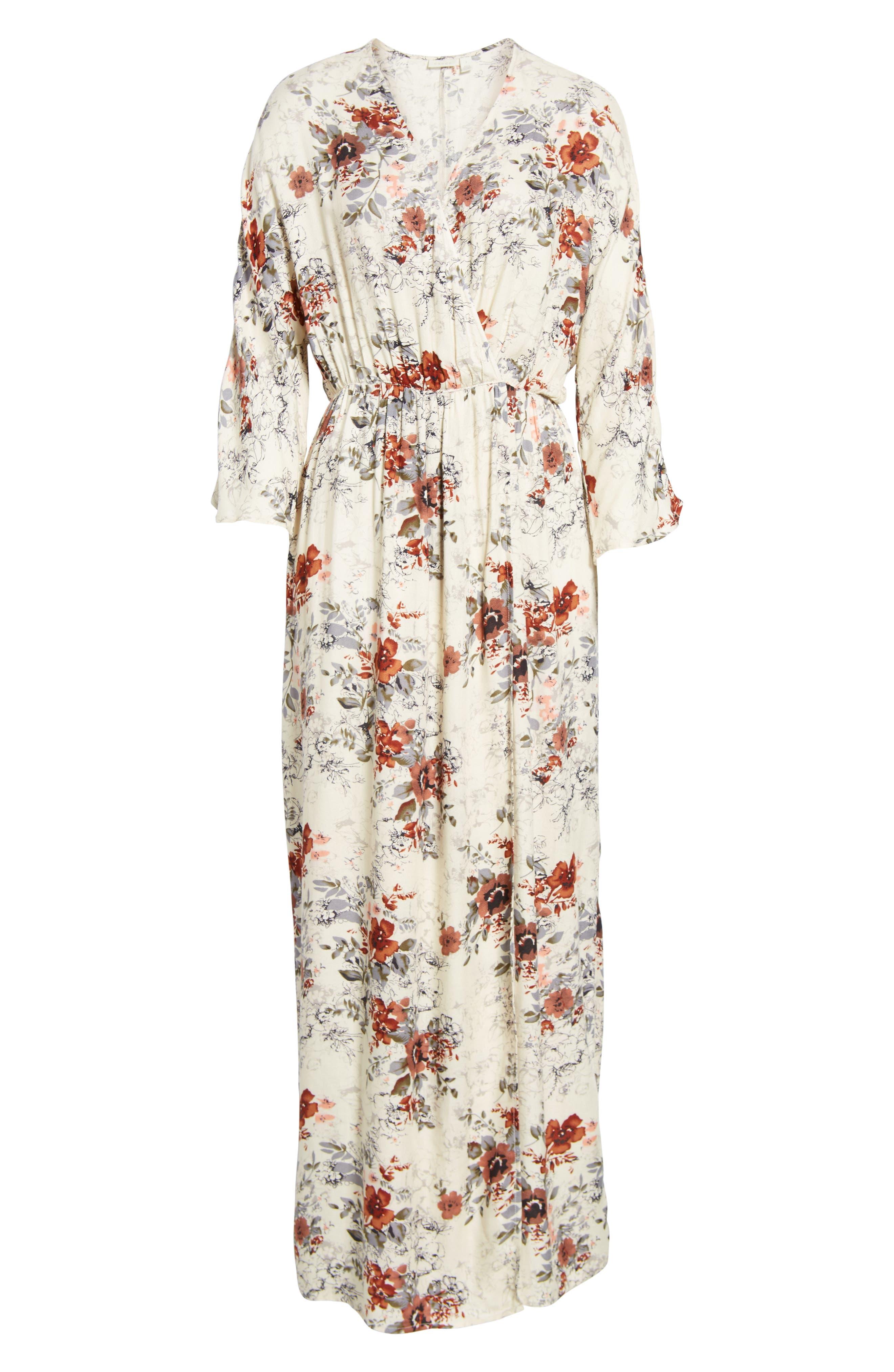 Alternate Image 6  - Hinge Blouson Maxi Dress