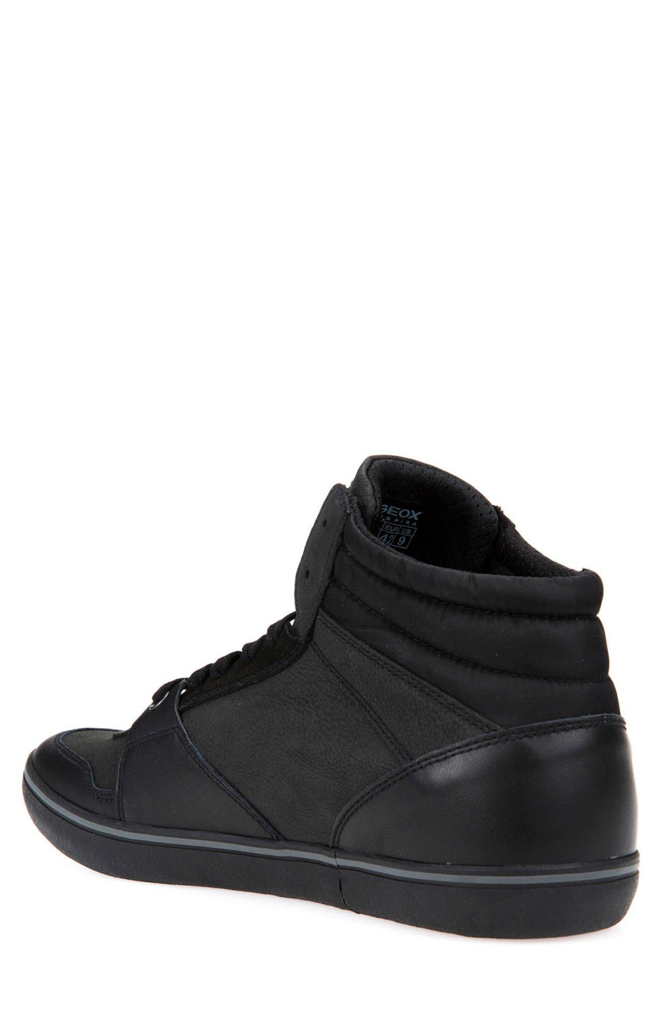 Box 31 High Top Sneaker,                             Alternate thumbnail 2, color,                             Black