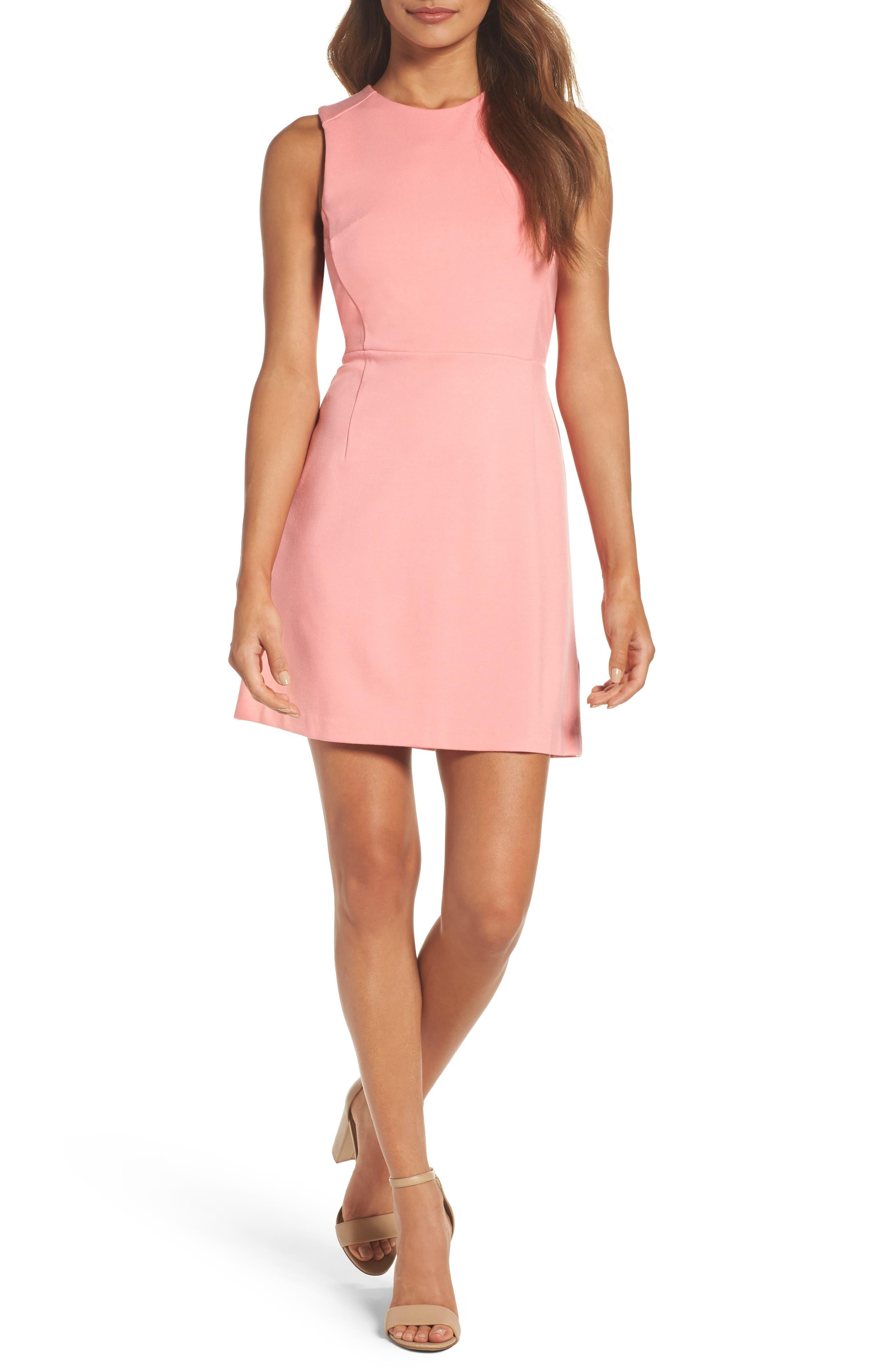 Lula Sheath Dress,                         Main,                         color, Pink