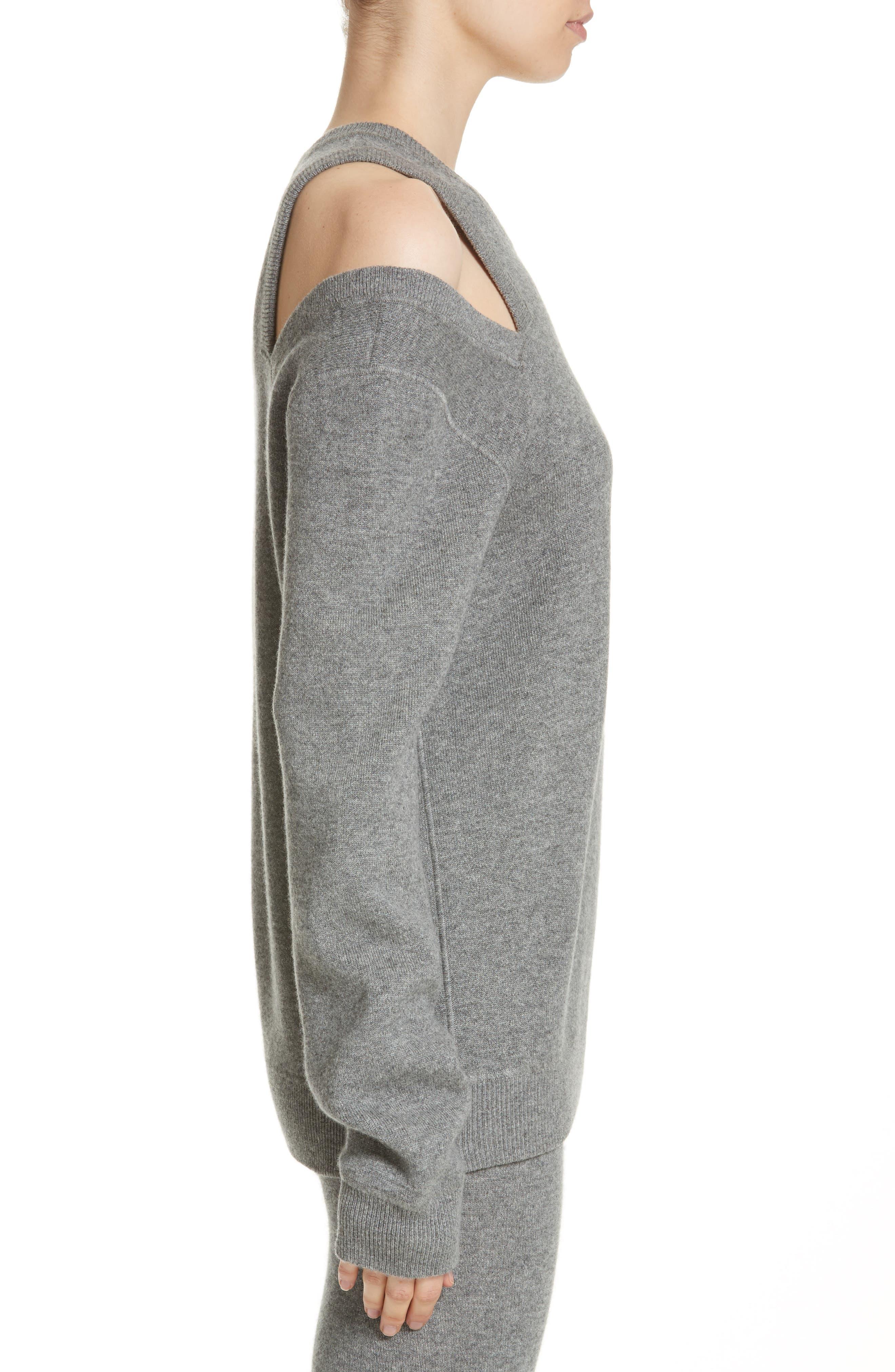 Alternate Image 3  - Michael Kors Cold Shoulder Sweater