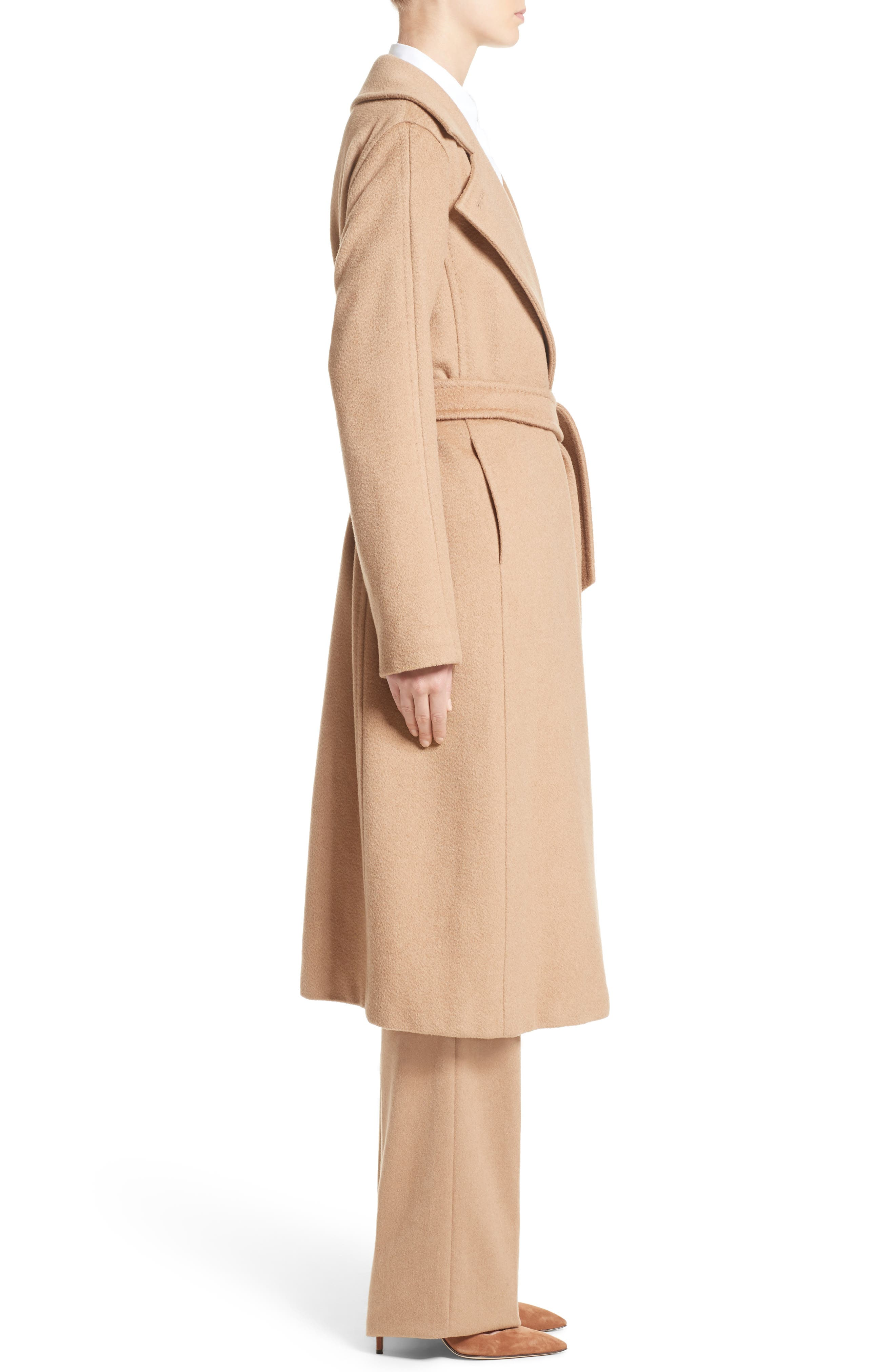 Alternate Image 5  - Max Mara 'Manuela' Camel Hair Coat