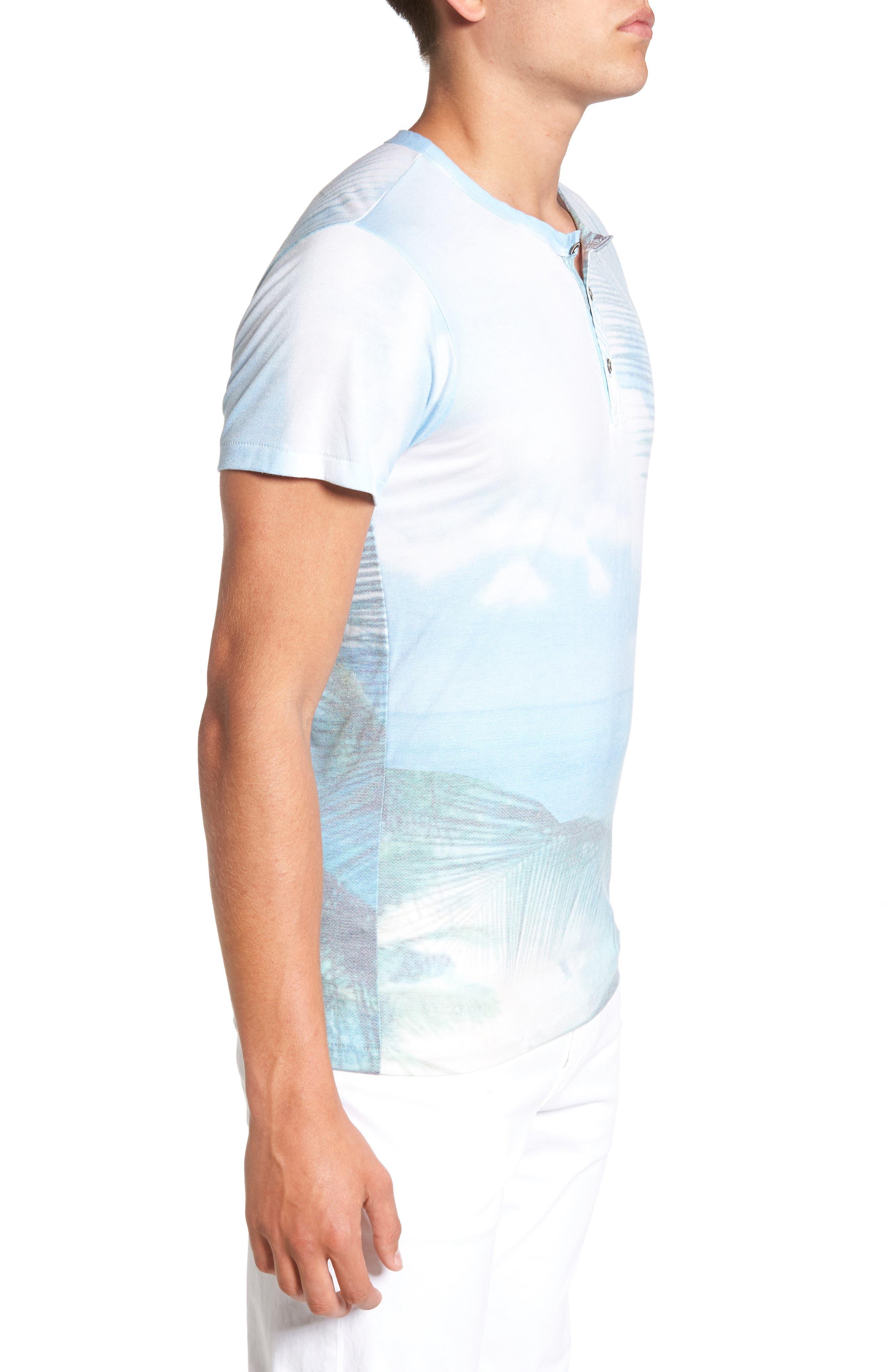 Quintana Henley T-Shirt,                             Alternate thumbnail 3, color,                             Quintanna