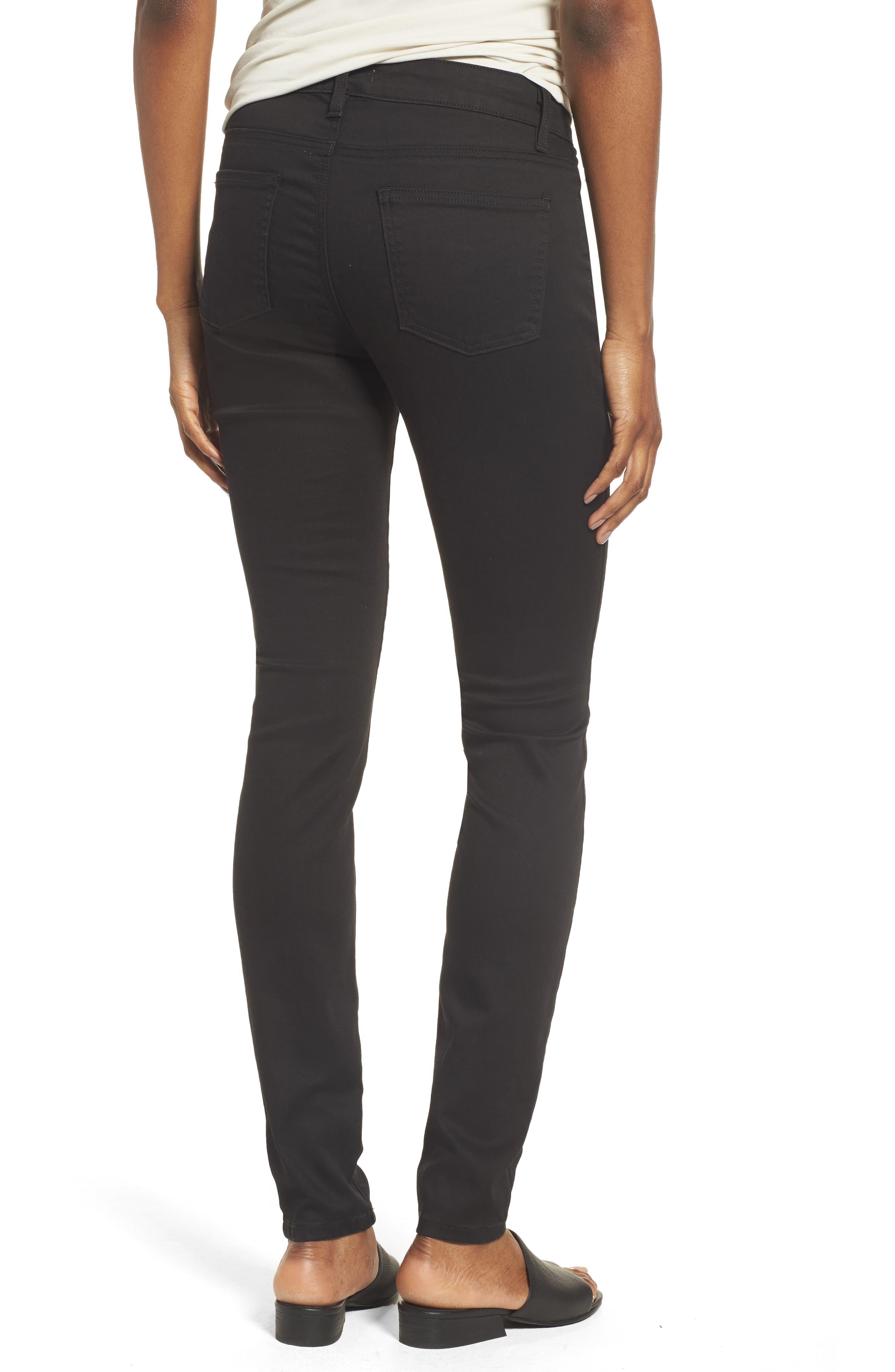 Alternate Image 2  - Eileen Fisher Stretch Skinny Jeans