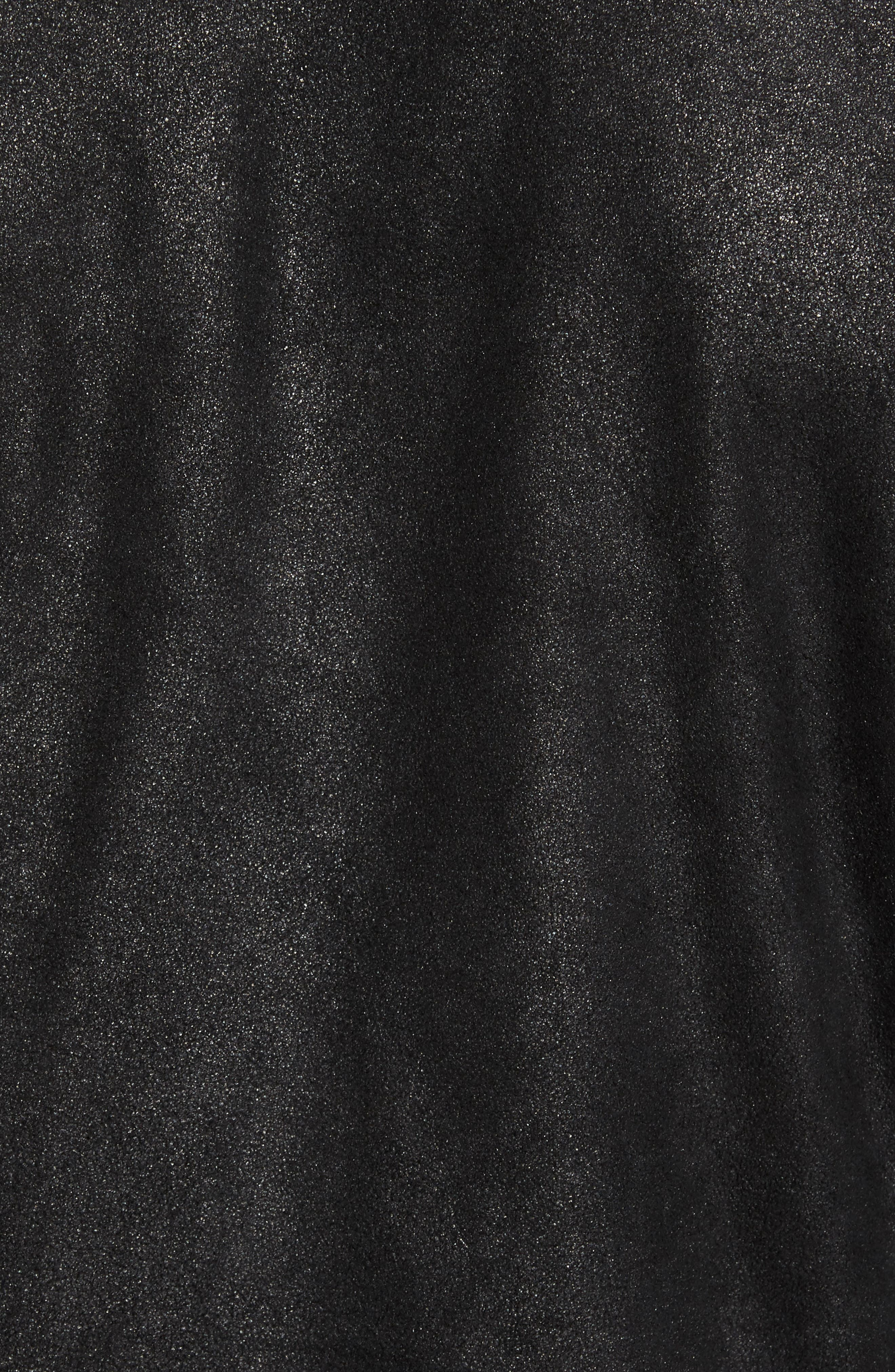 Alternate Image 5  - John Varvatos Star USA Leather Trucker Jacket