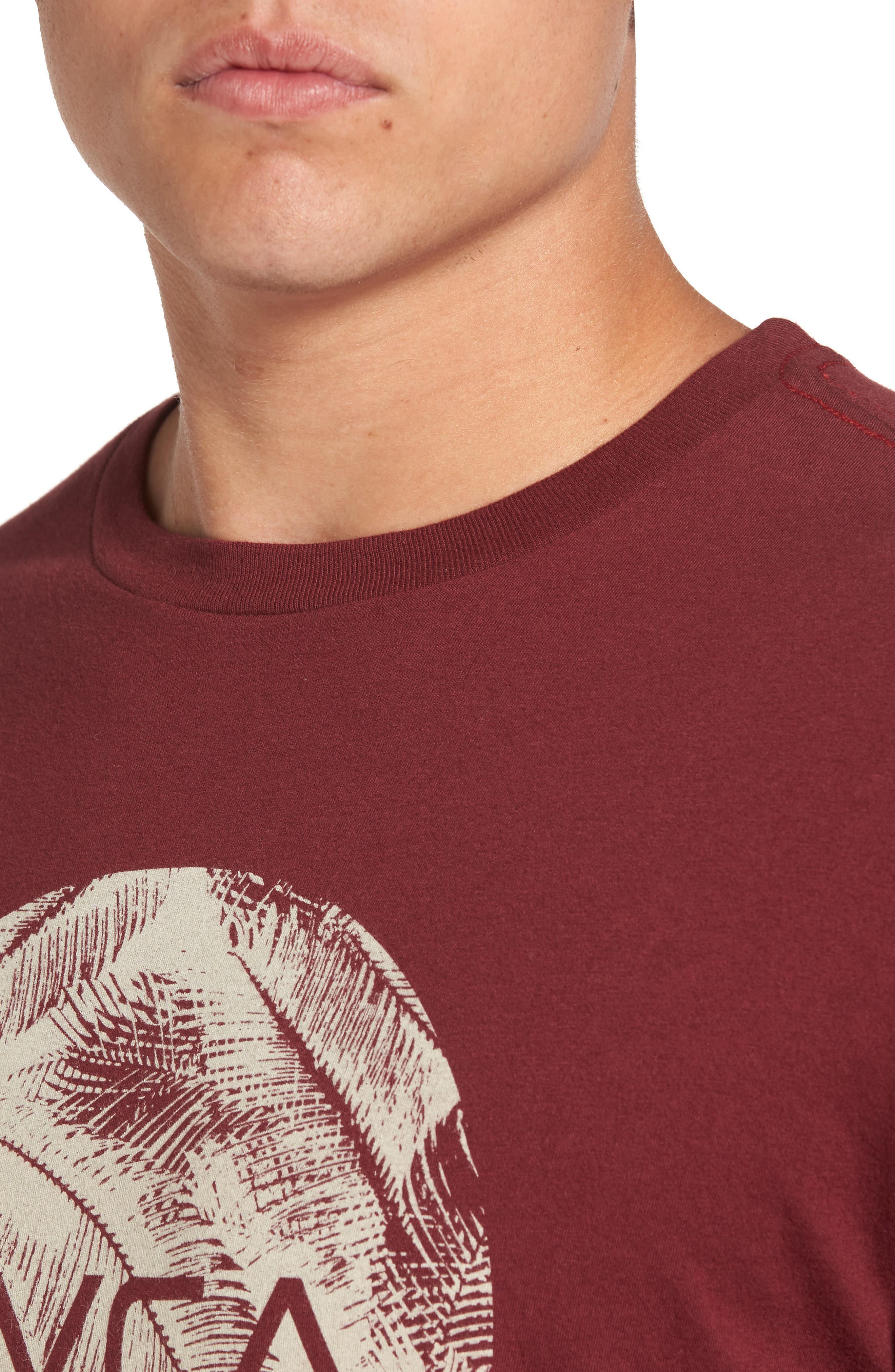 Alternate Image 4  - RVCA Motors Palm Graphic T-Shirt
