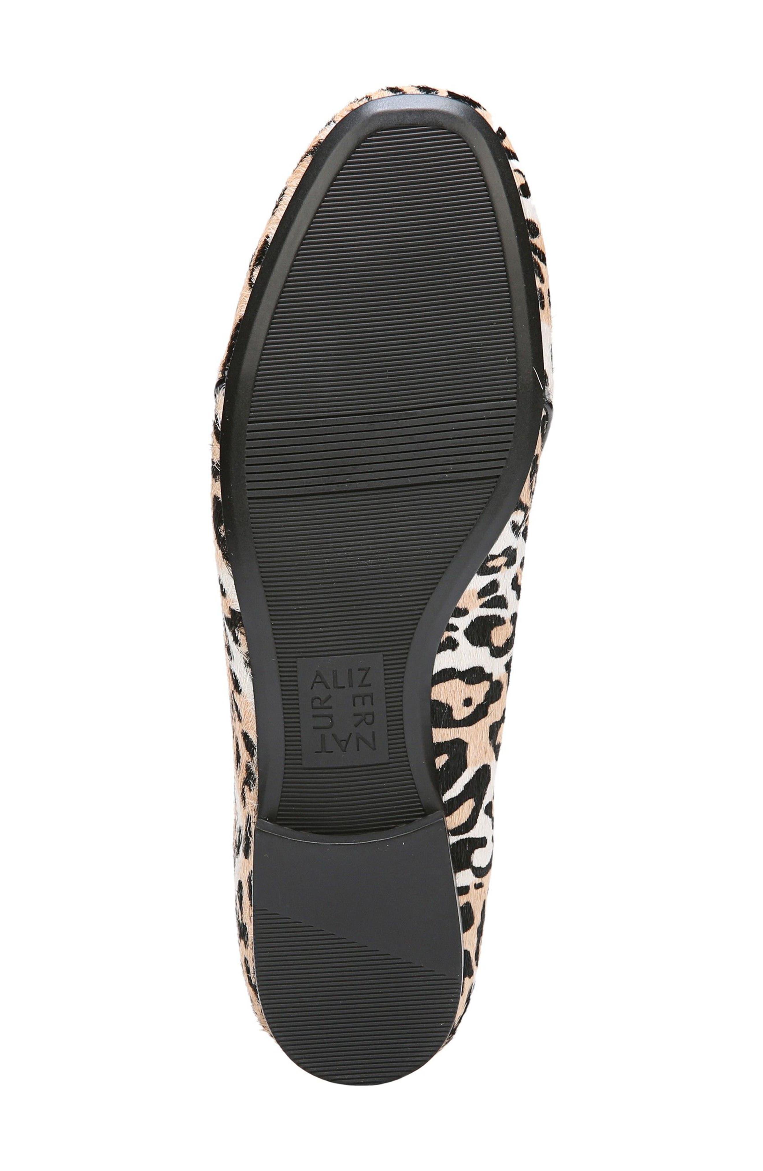 Emiline 2 Loafer,                             Alternate thumbnail 6, color,                             Cheetah Brahma Hair