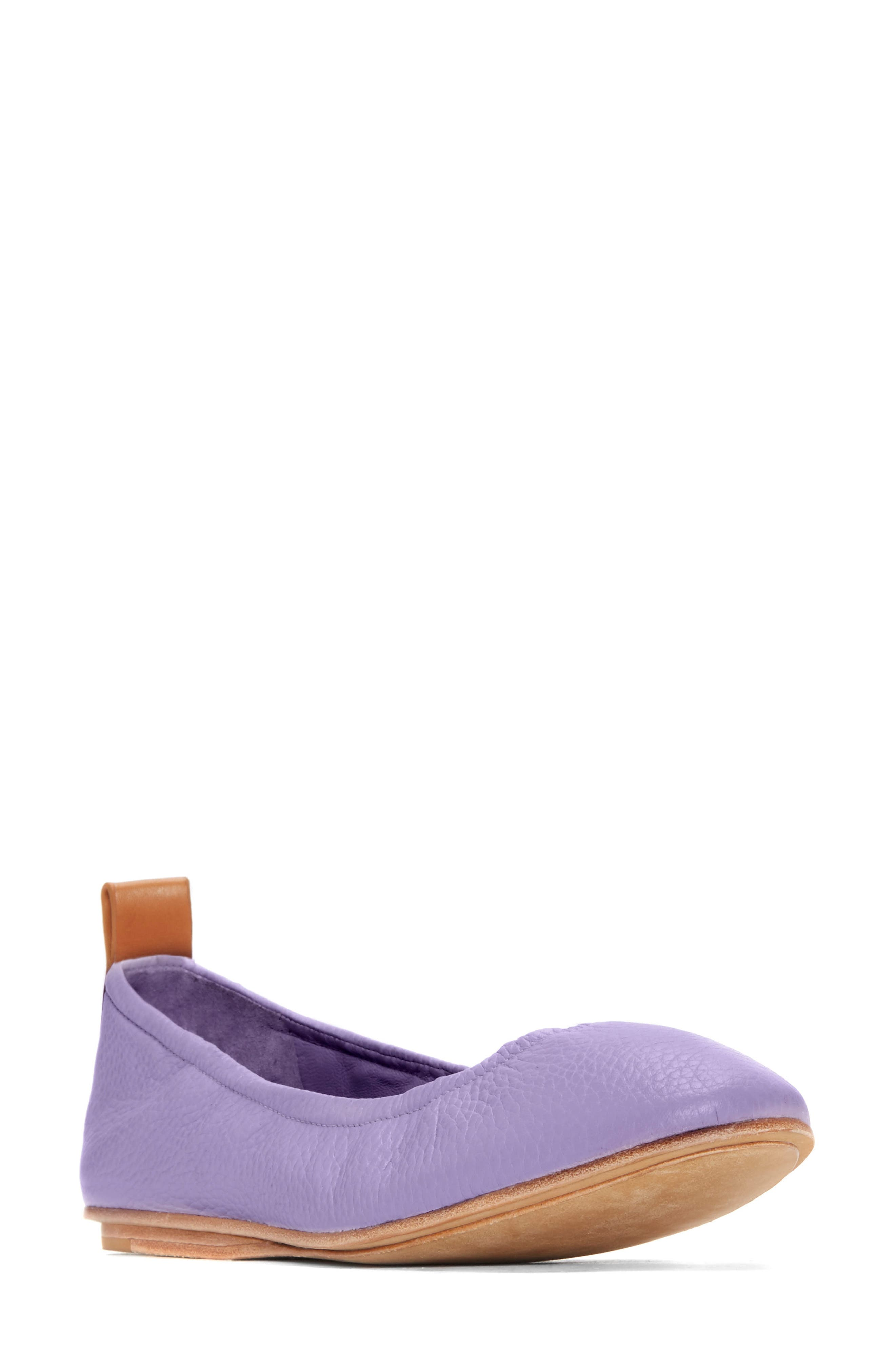 Carola Ballet Flat,                             Main thumbnail 1, color,                             Lavender
