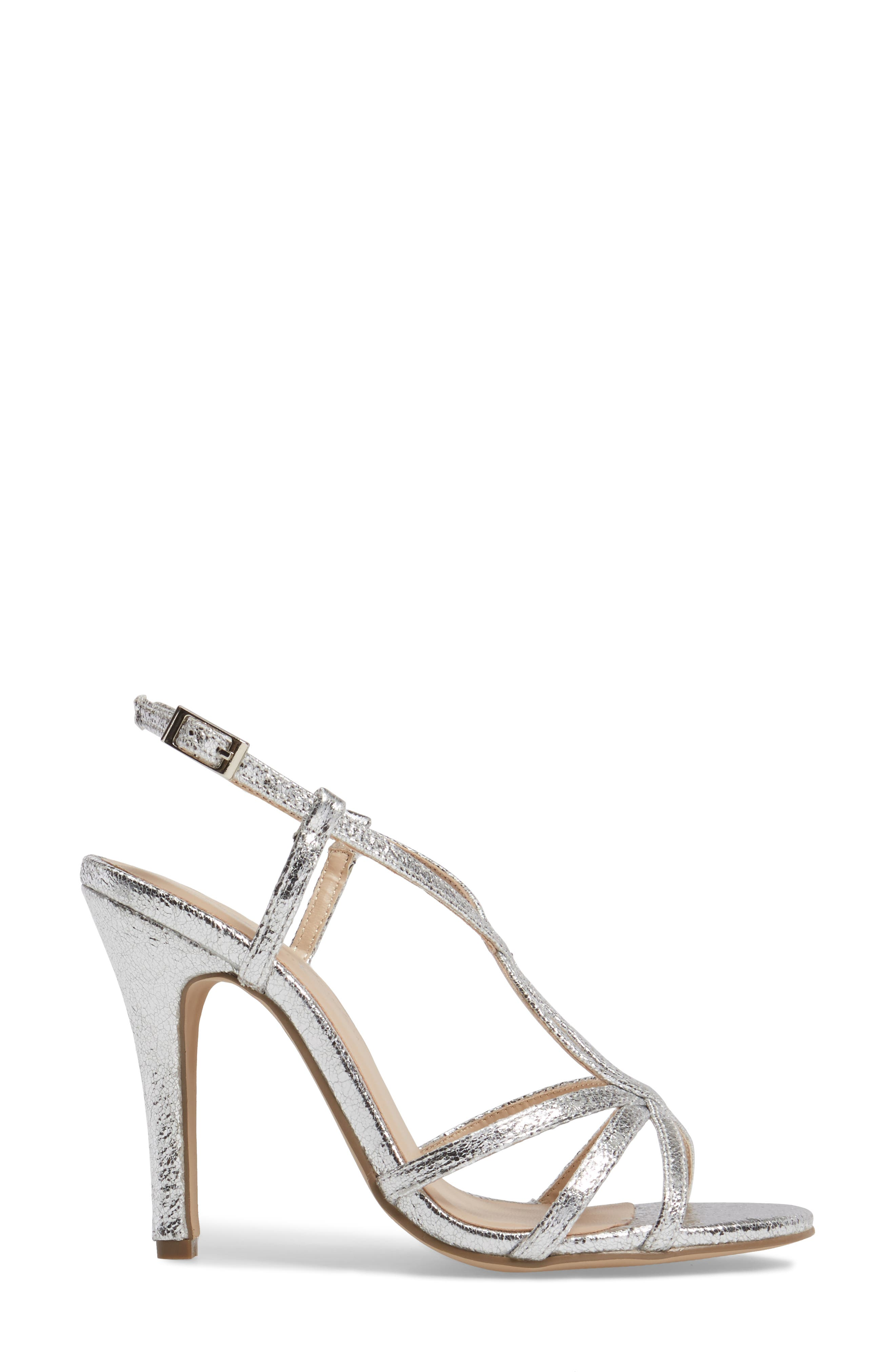Magic Slingback Sandal,                             Alternate thumbnail 3, color,                             Silver