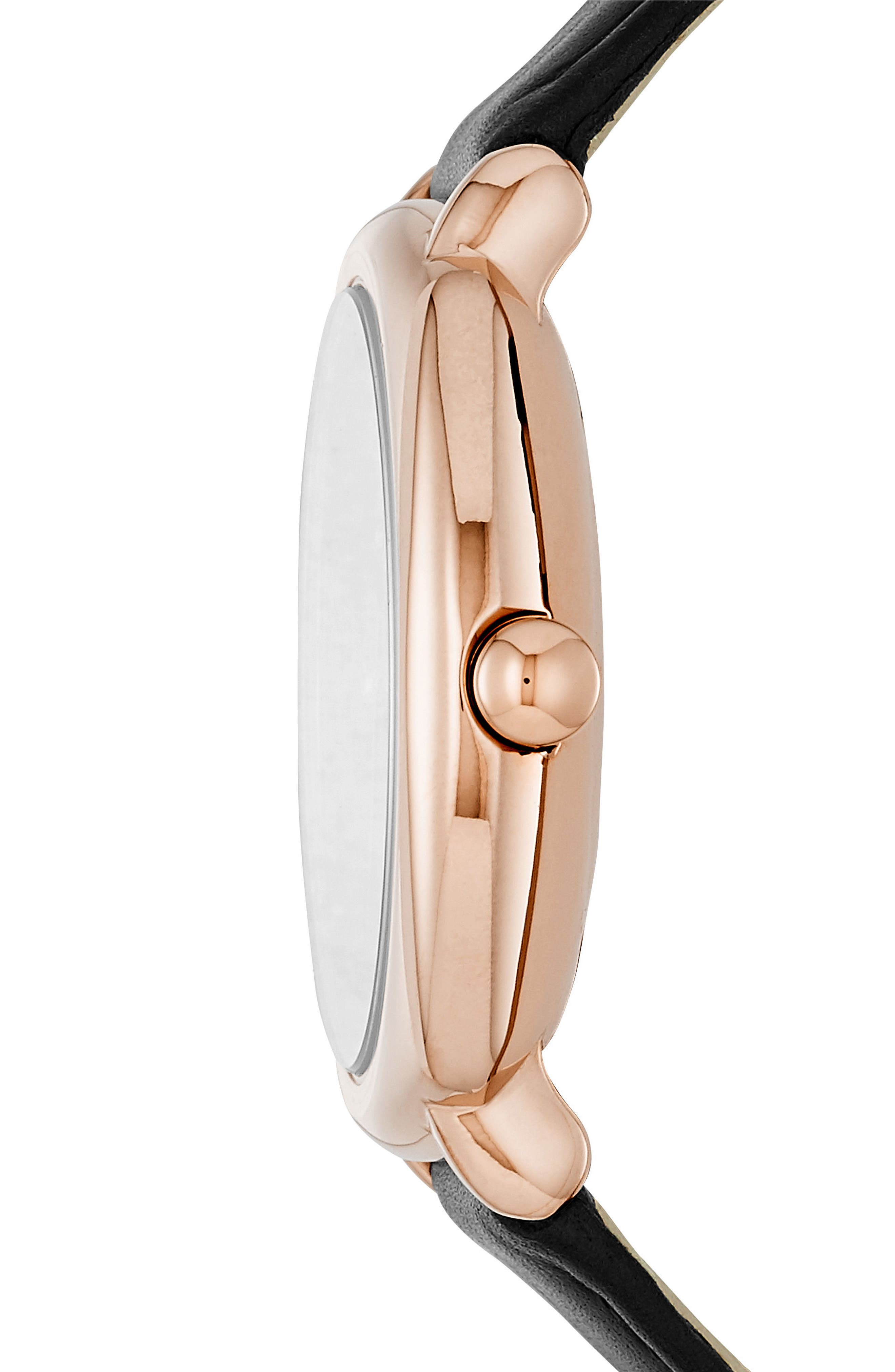 Alternate Image 2  - MARC JACOBS Mandy Leather Strap Watch, 34mm