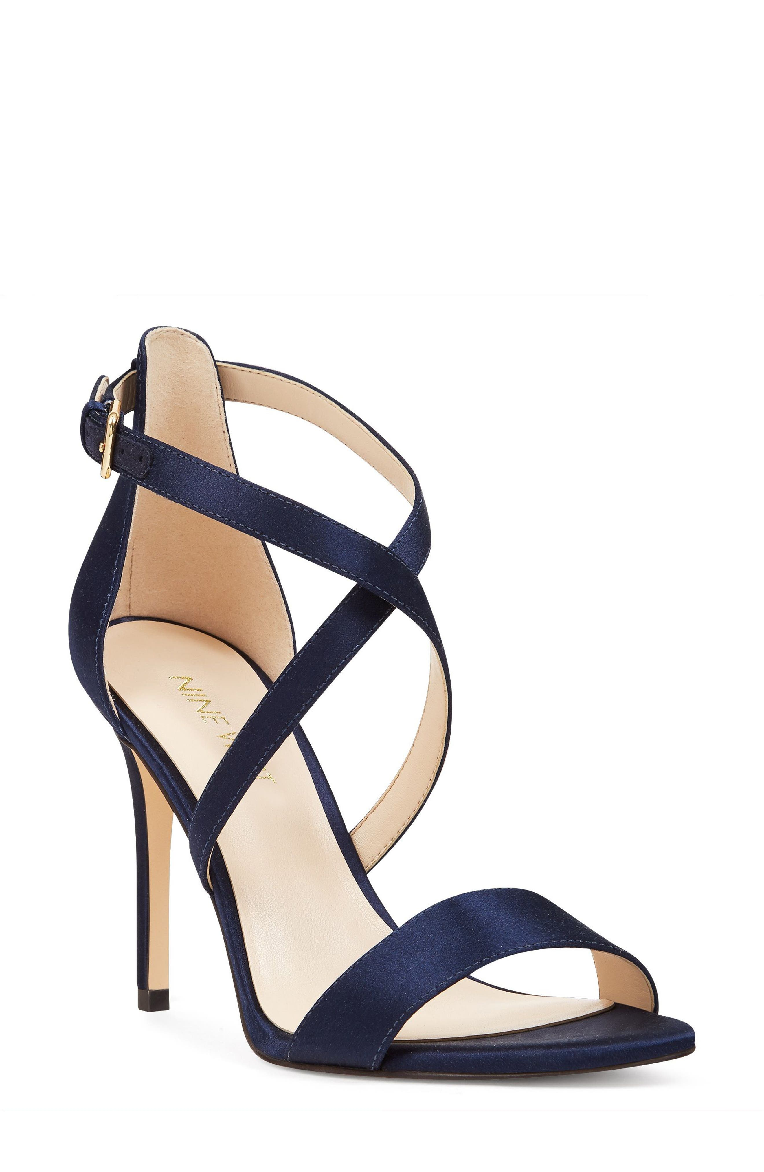 Nine West Mydebut Cross Strap Sandal (Women)
