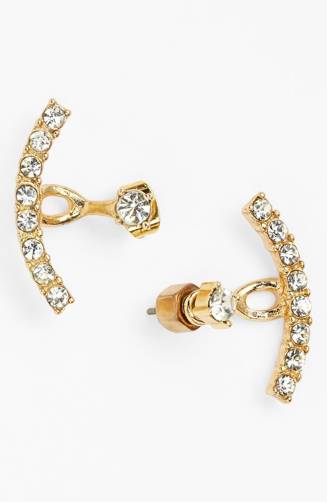 Main Image - BP. Crystal Ear Cuffs