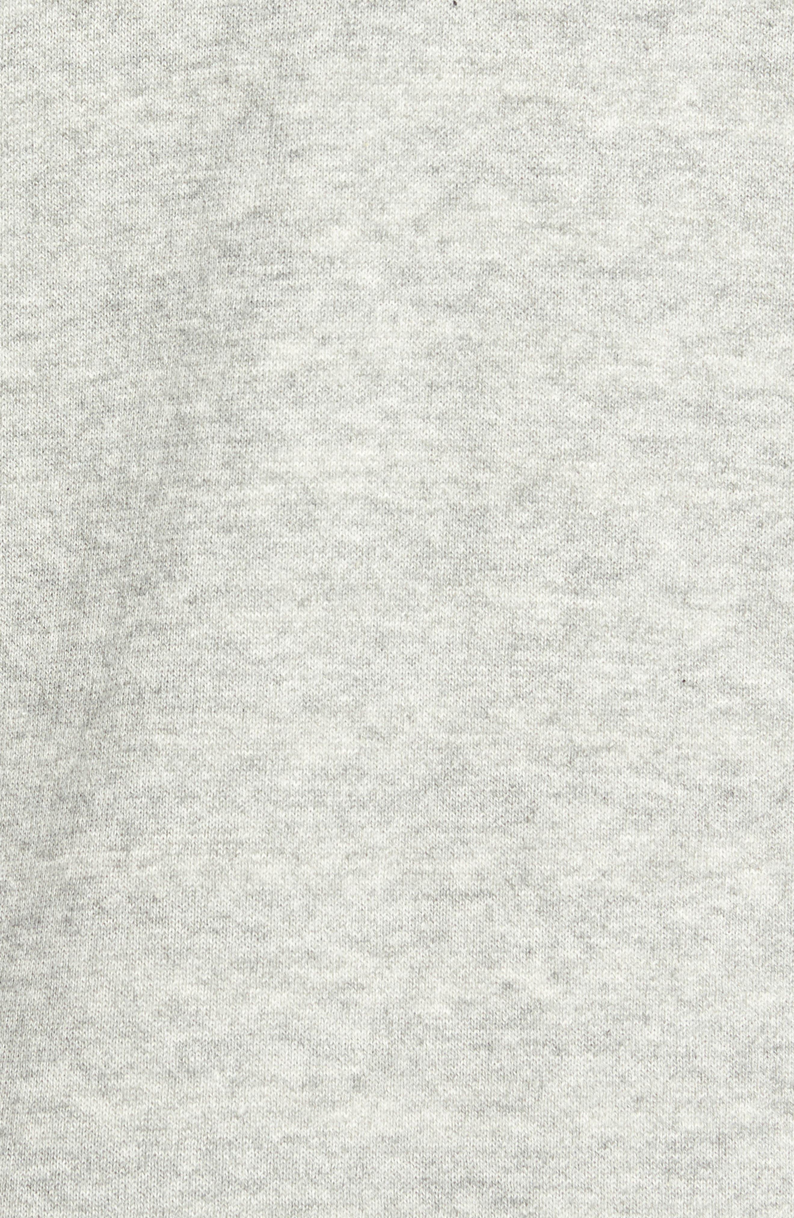 Reversible Organic Cotton Blend Cardigan,                             Alternate thumbnail 5, color,                             Dark Pearl