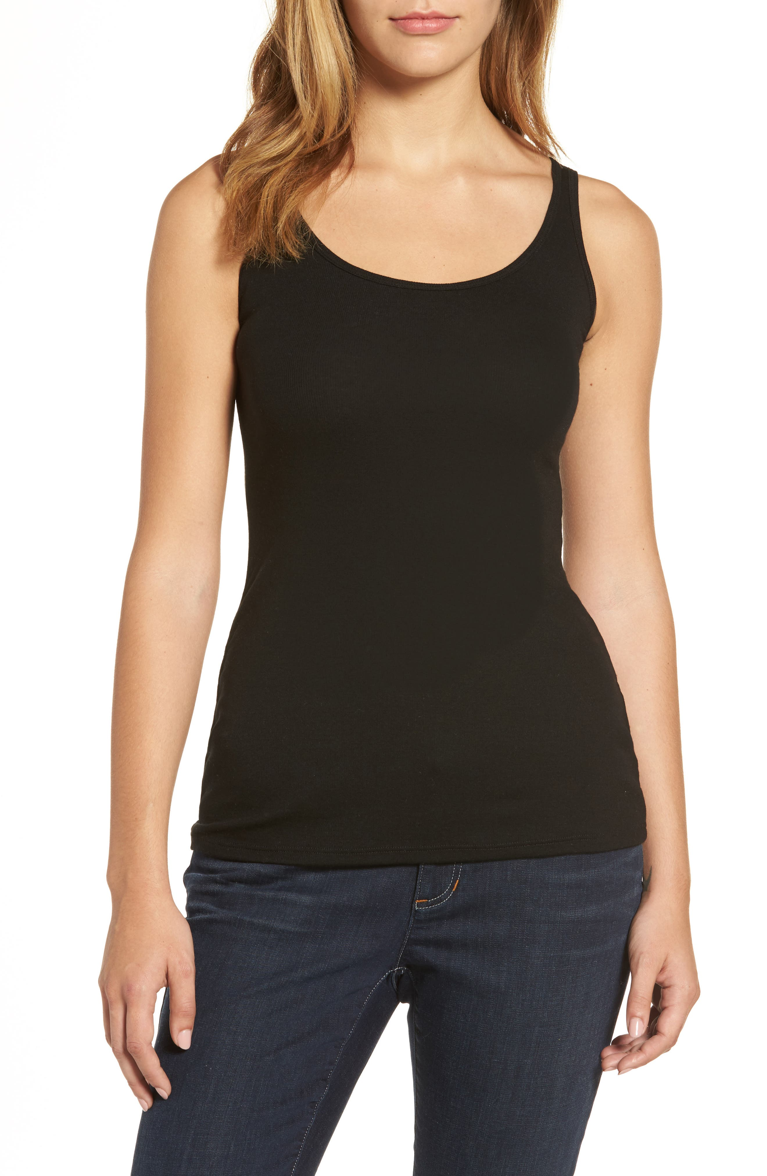 EILEEN FISHER Stretch Tencel<sup>®</sup> Tank