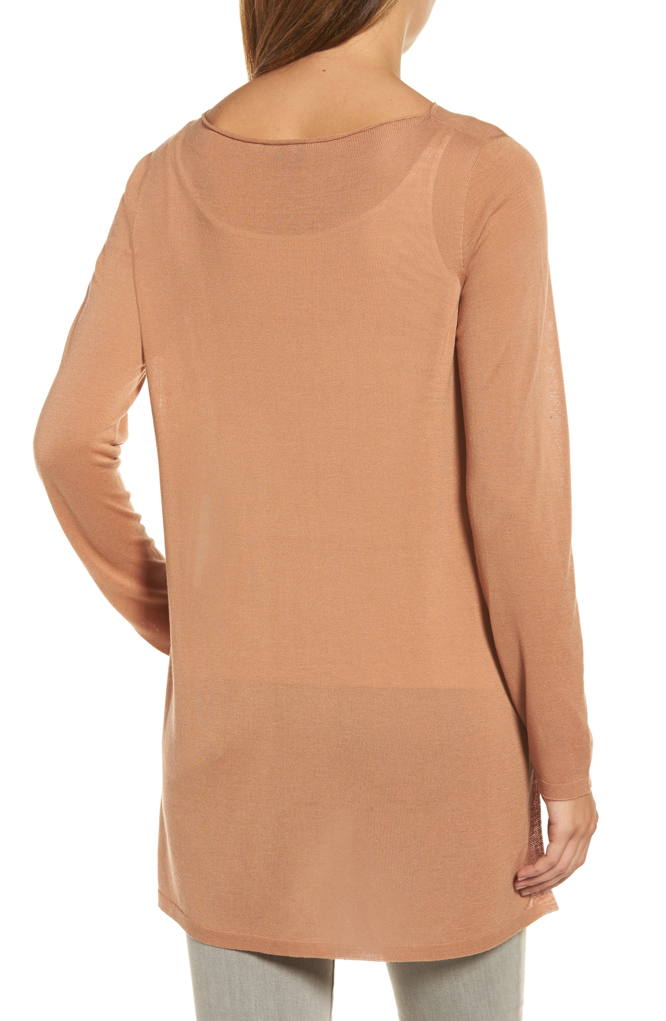 Alternate Image 2  - Eileen Fisher Side Slit Tencel® Tunic