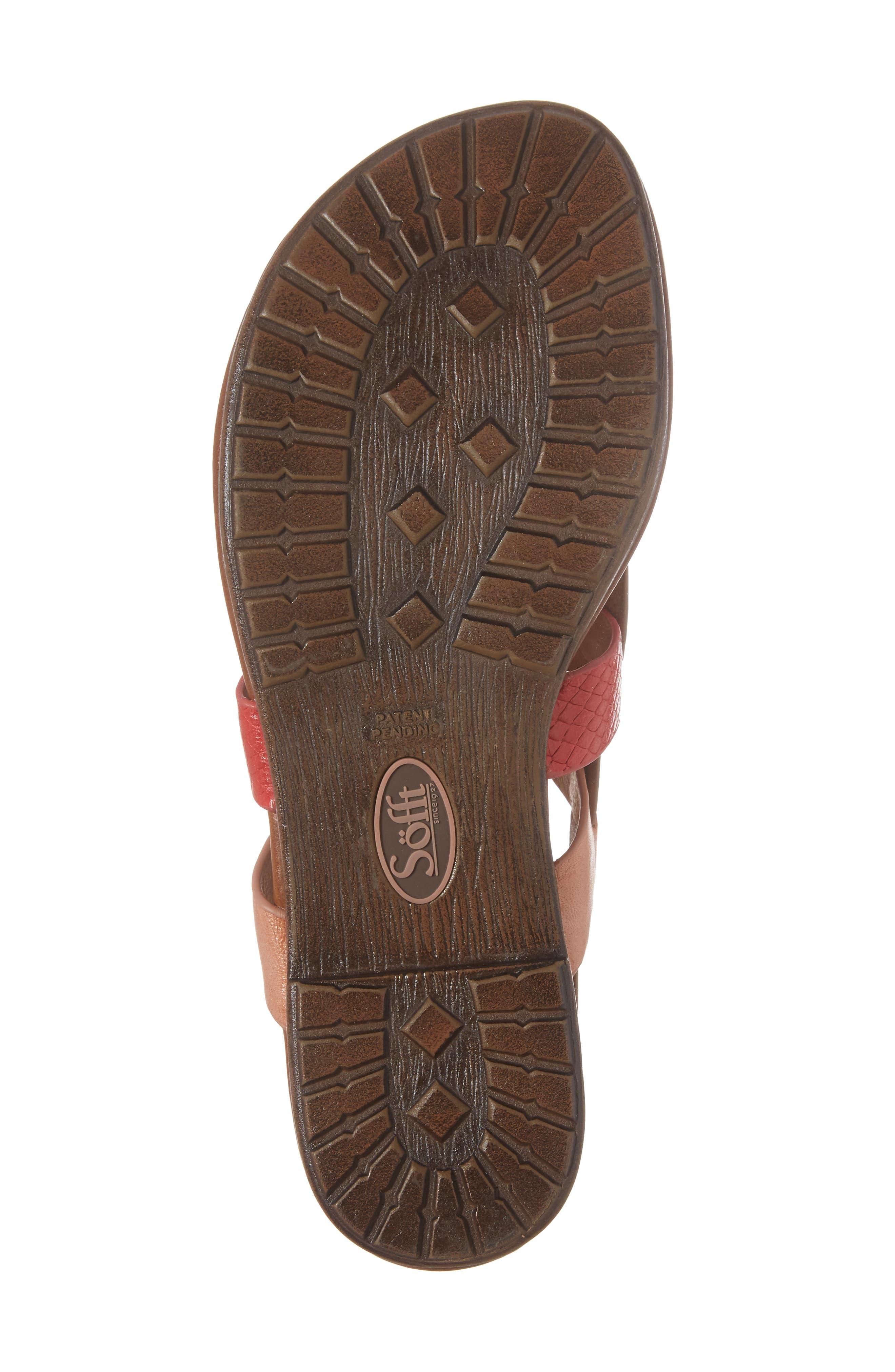 Alternate Image 6  - Söfft Bena Strappy Sandal (Women)