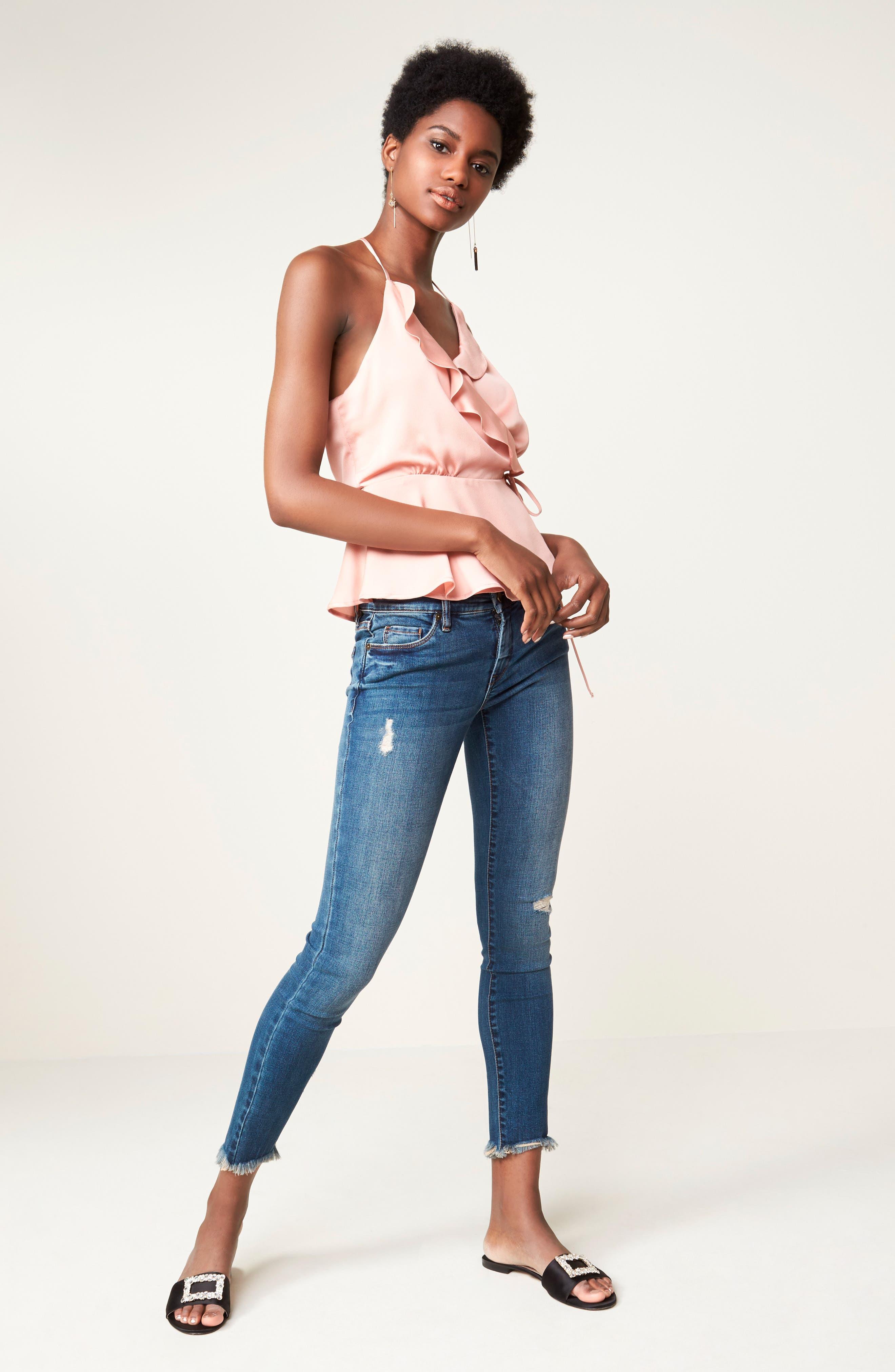 Alternate Image 2  - BLANKNYC Skinny Ankle Jeans