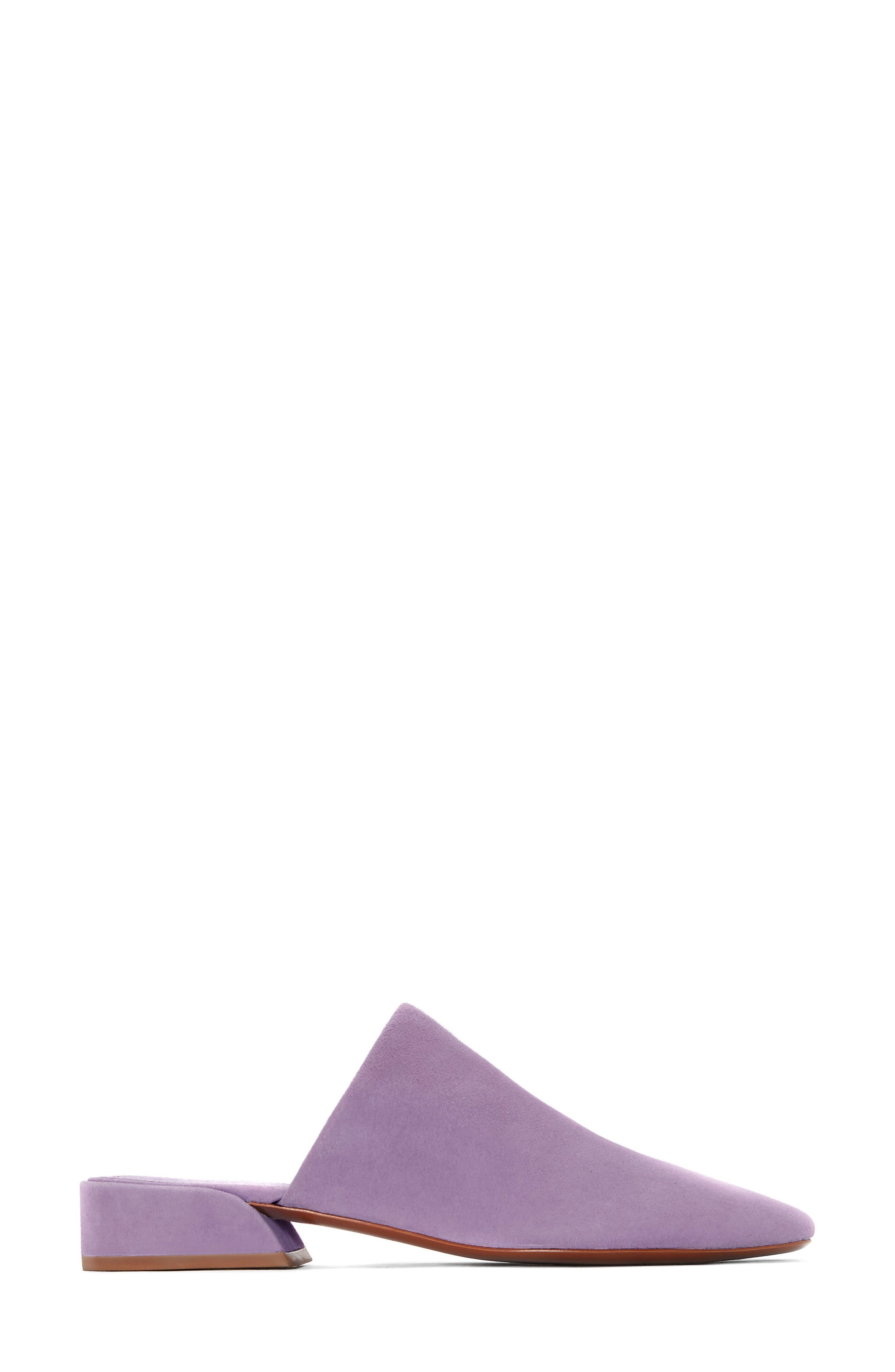 Zaira Mule,                             Alternate thumbnail 2, color,                             Lavender Suede