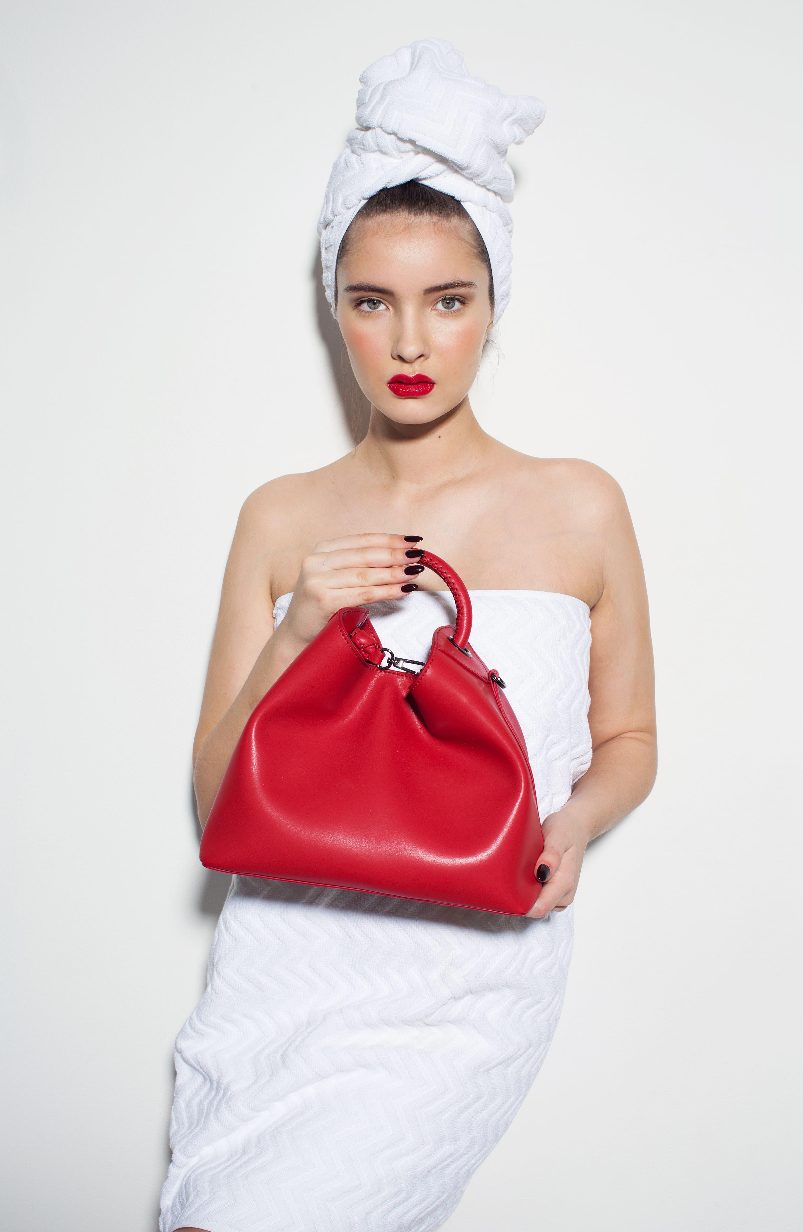 Alternate Image 7  - Elleme Raisin Leather Handbag