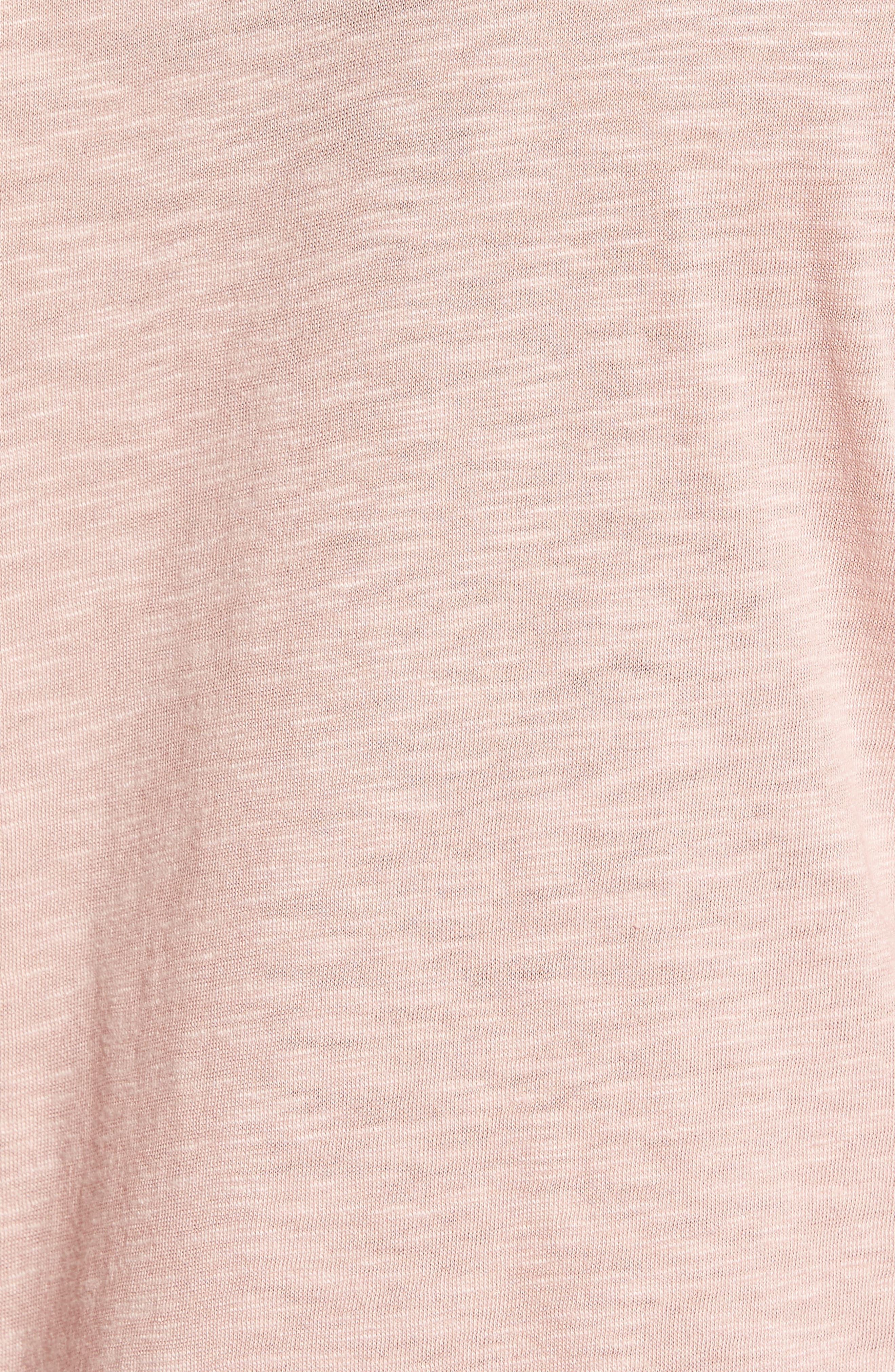 Alternate Image 5  - Caslon® Rounded V-Neck Tee (Regular & Petite)