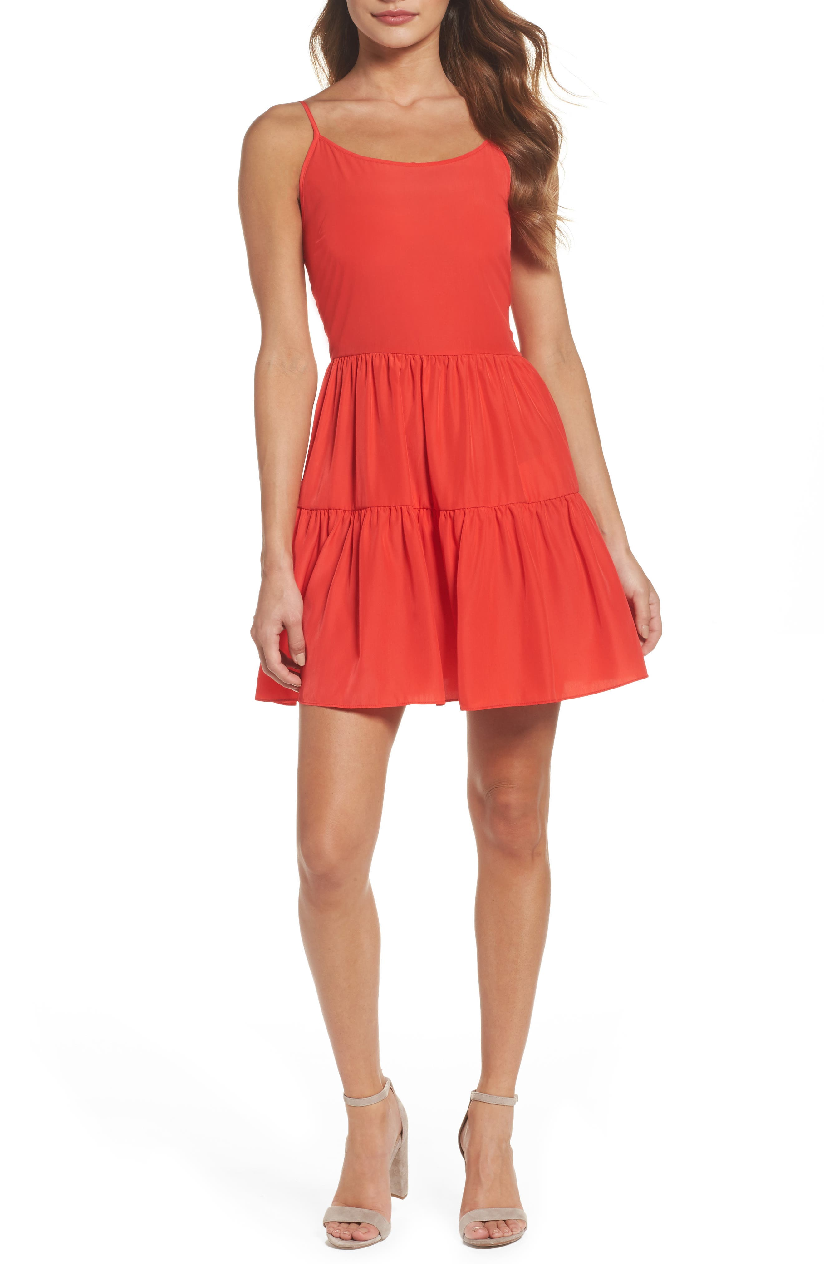 A by Amanda Fit & Flare Dress