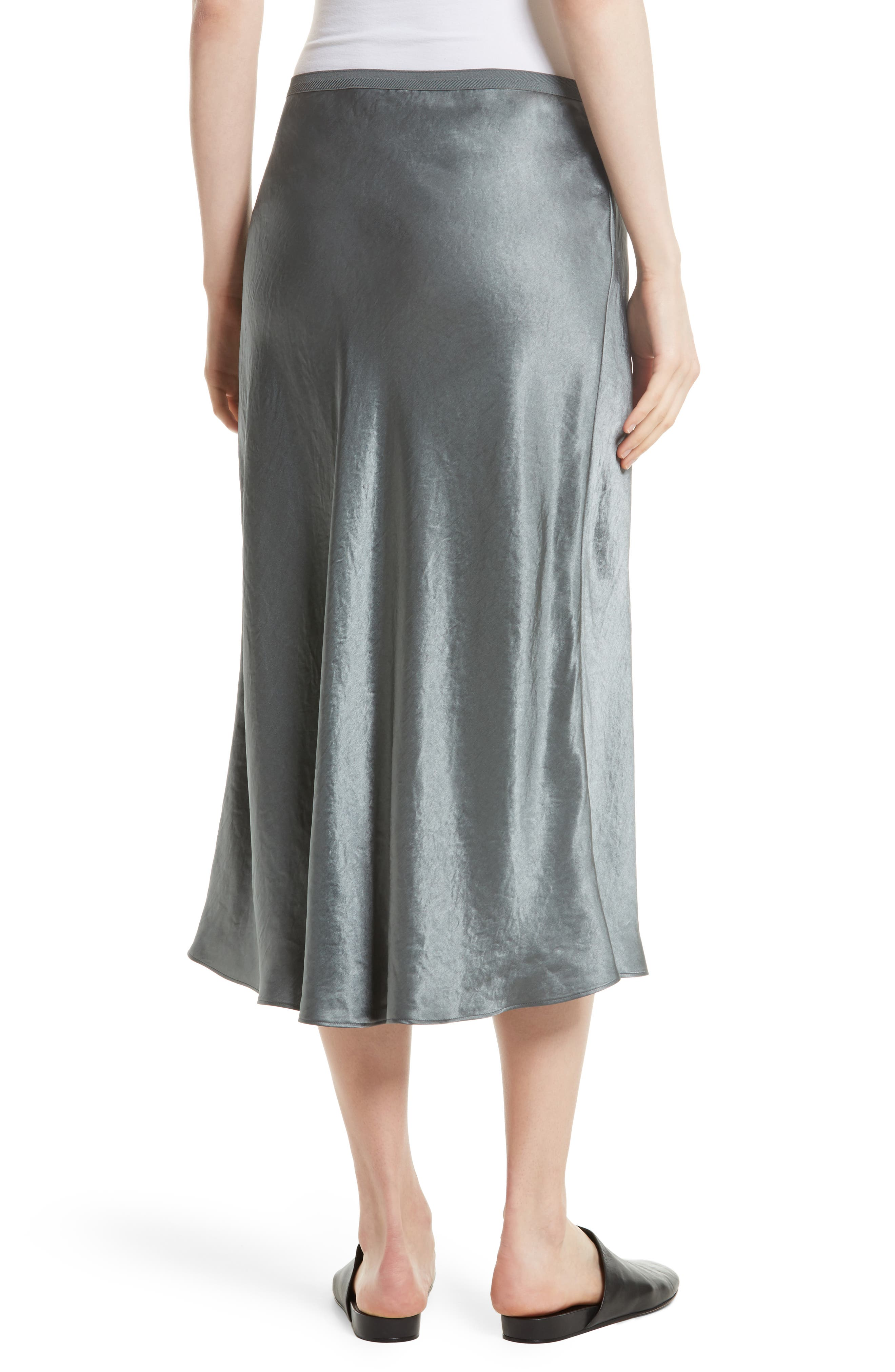 Alternate Image 2  - Vince Elastic Waist Slip Skirt