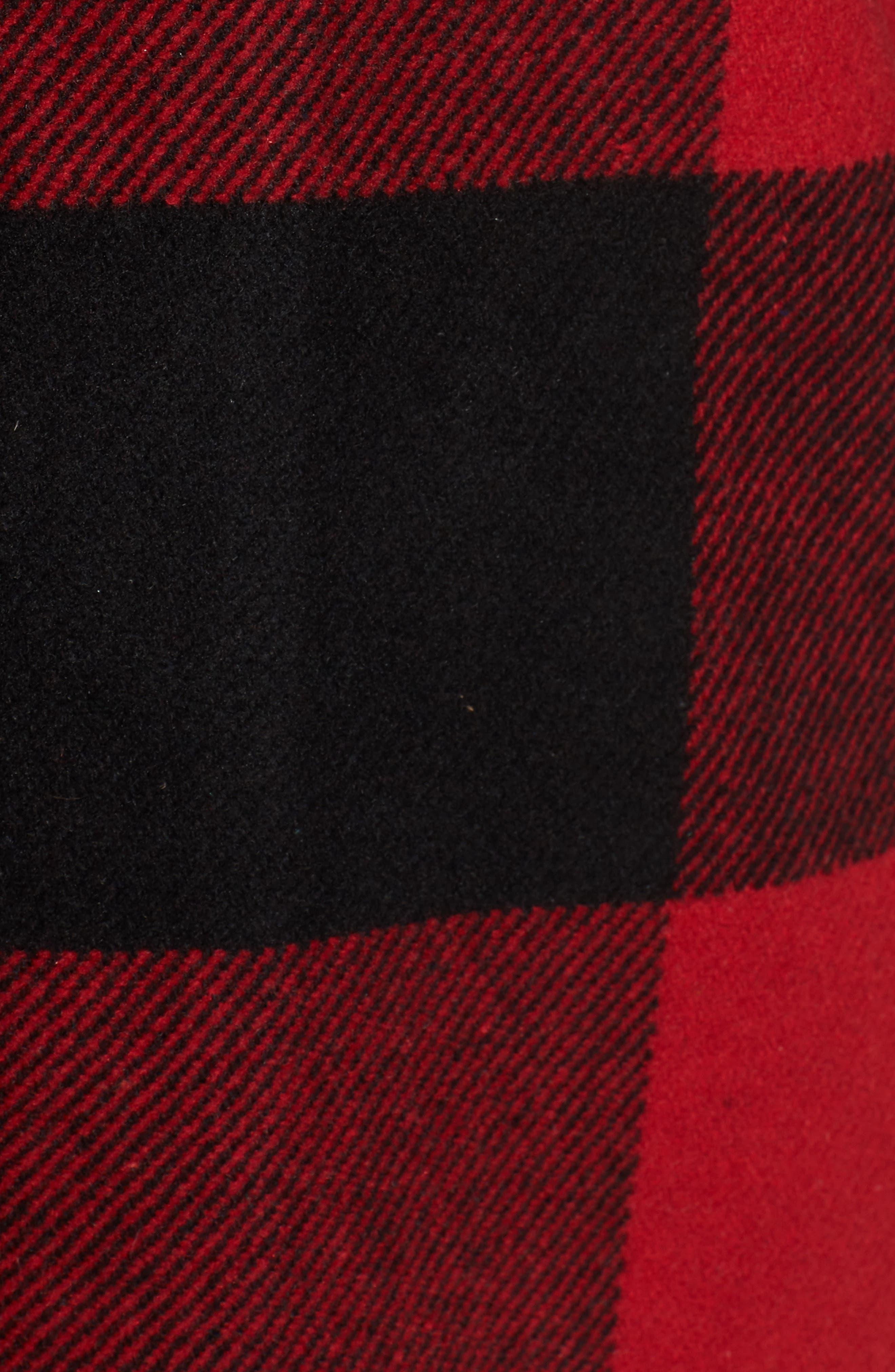 Alternate Image 5  - BB Dakota Eldridge Oversize Buffalo Check Shirt Jacket