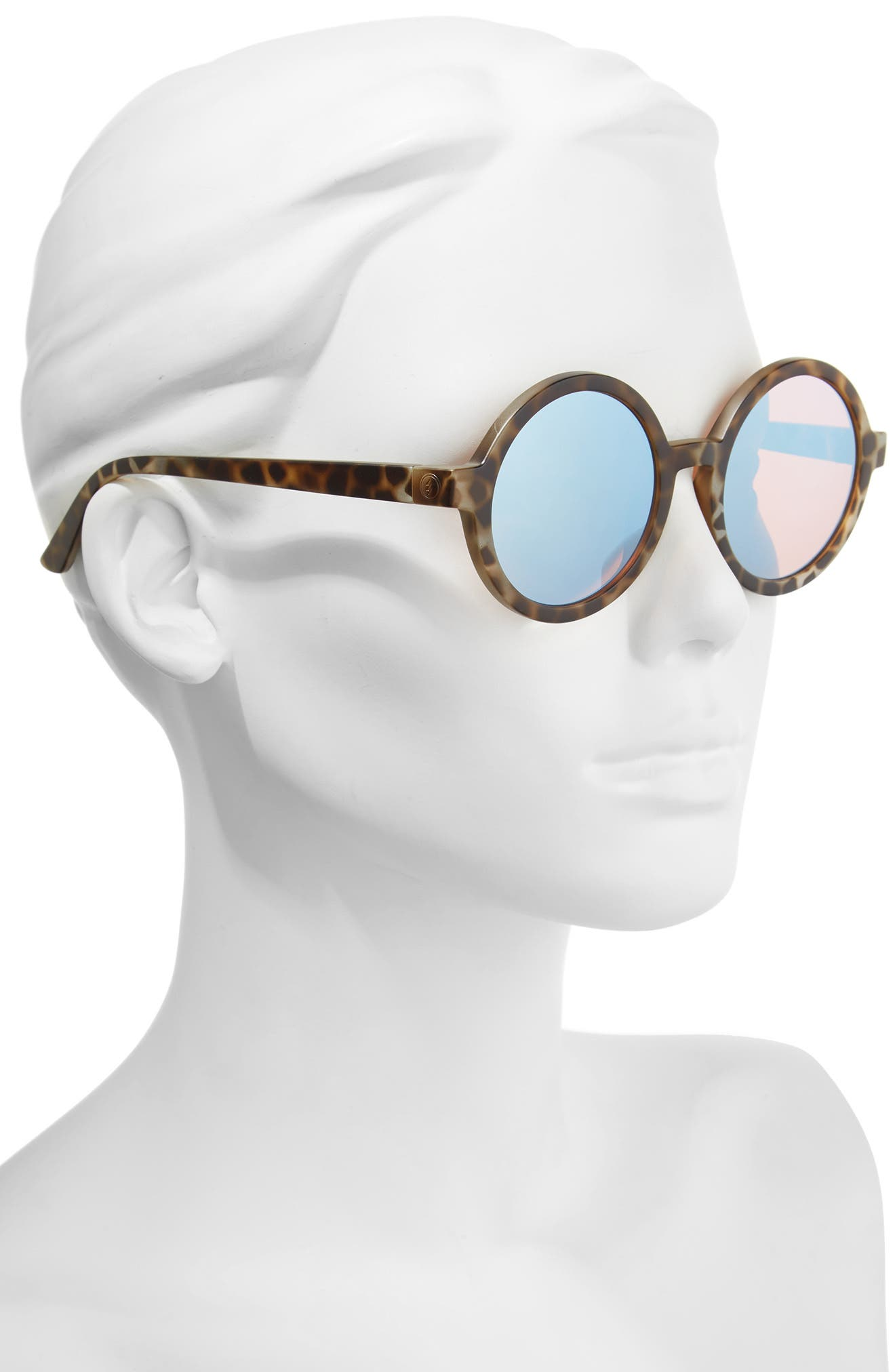 Alternate Image 2  - ELECTRIC Lunar 52mm Round Sunglasses