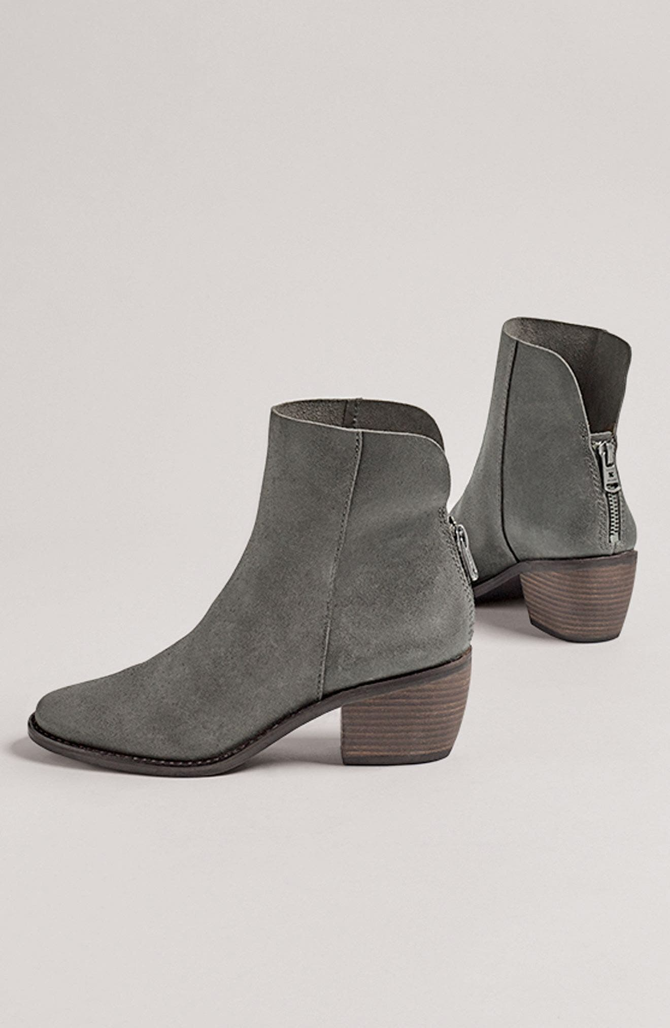 Alternate Image 7  - Lucky Brand Kaiya Pointy Toe Bootie (Women)