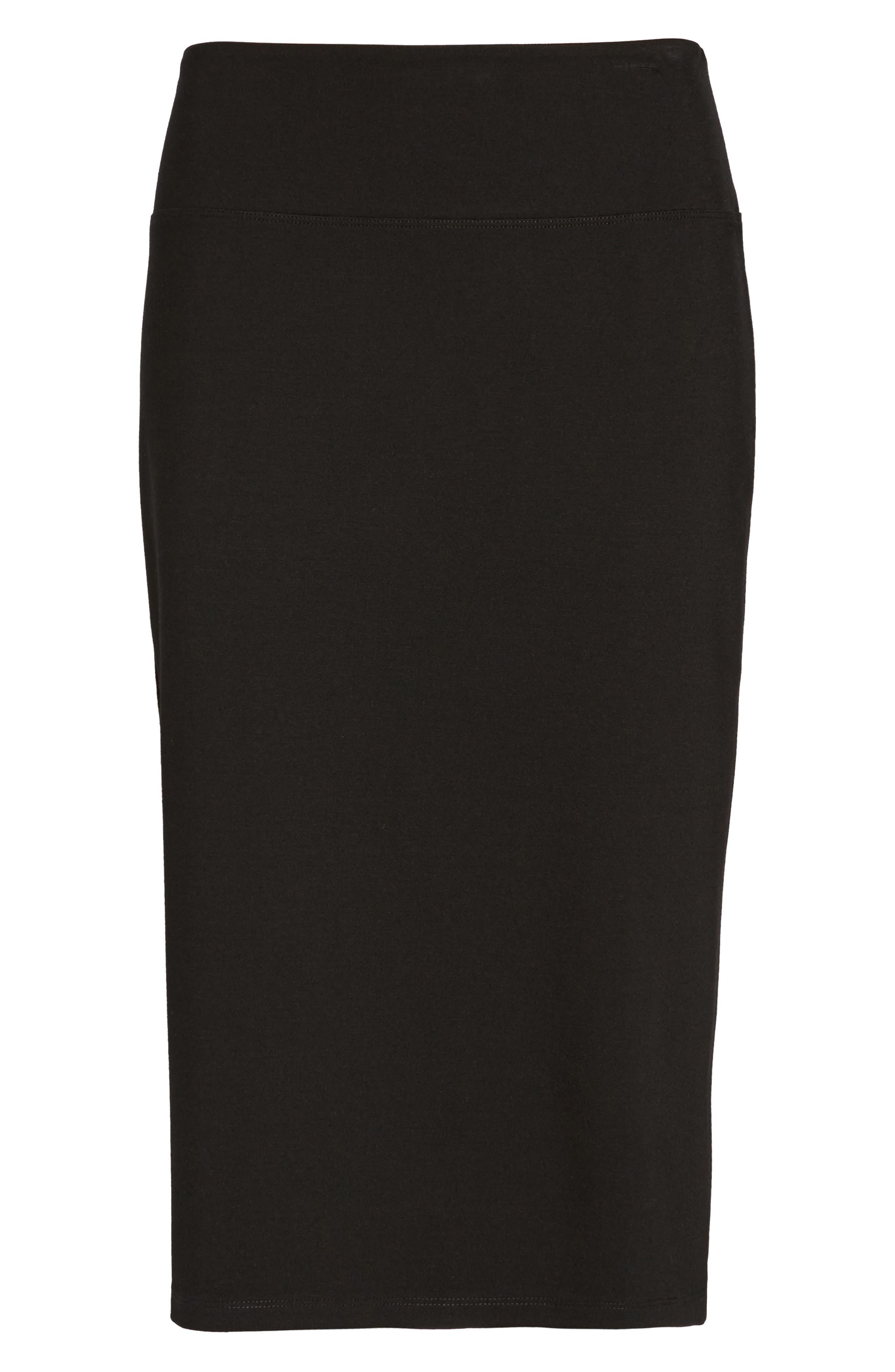 Alternate Image 6  - Halogen® Ponte Pencil Skirt (Regular & Petite)