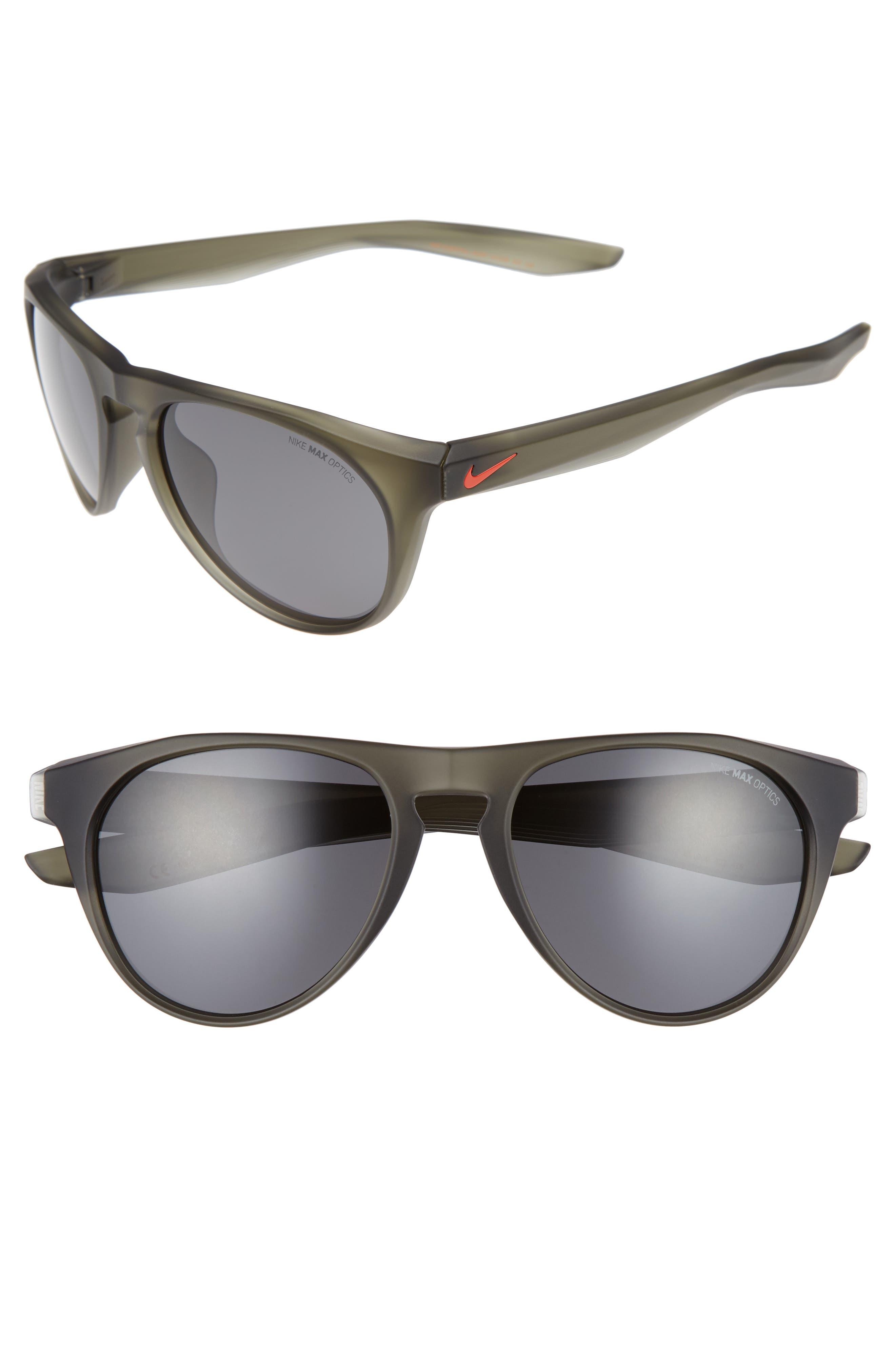 Essential Jaunt 56mm Sunglasses,                             Main thumbnail 1, color,                             Matte Cargo Khaki